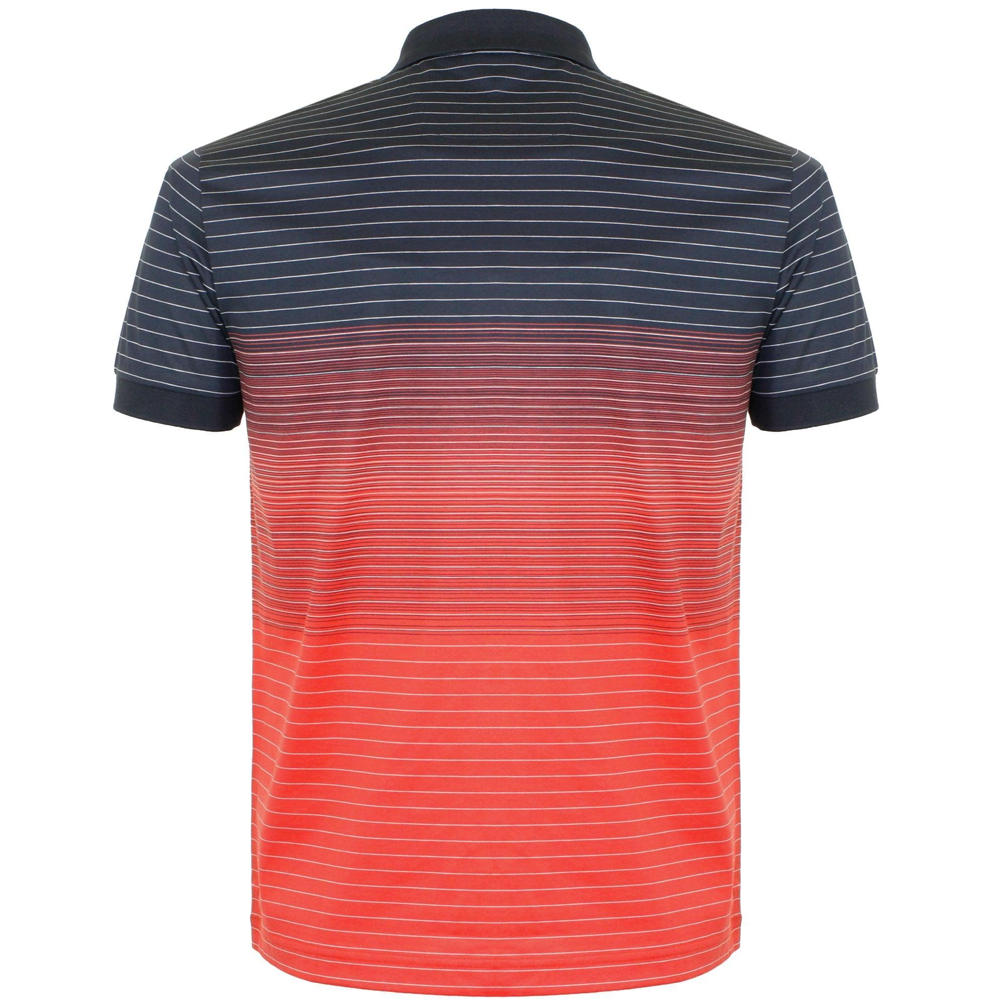 e7ec8b203 BOSS Green Hugo Boss Paddy 3 Open Red Polo Shirt for Men - Lyst