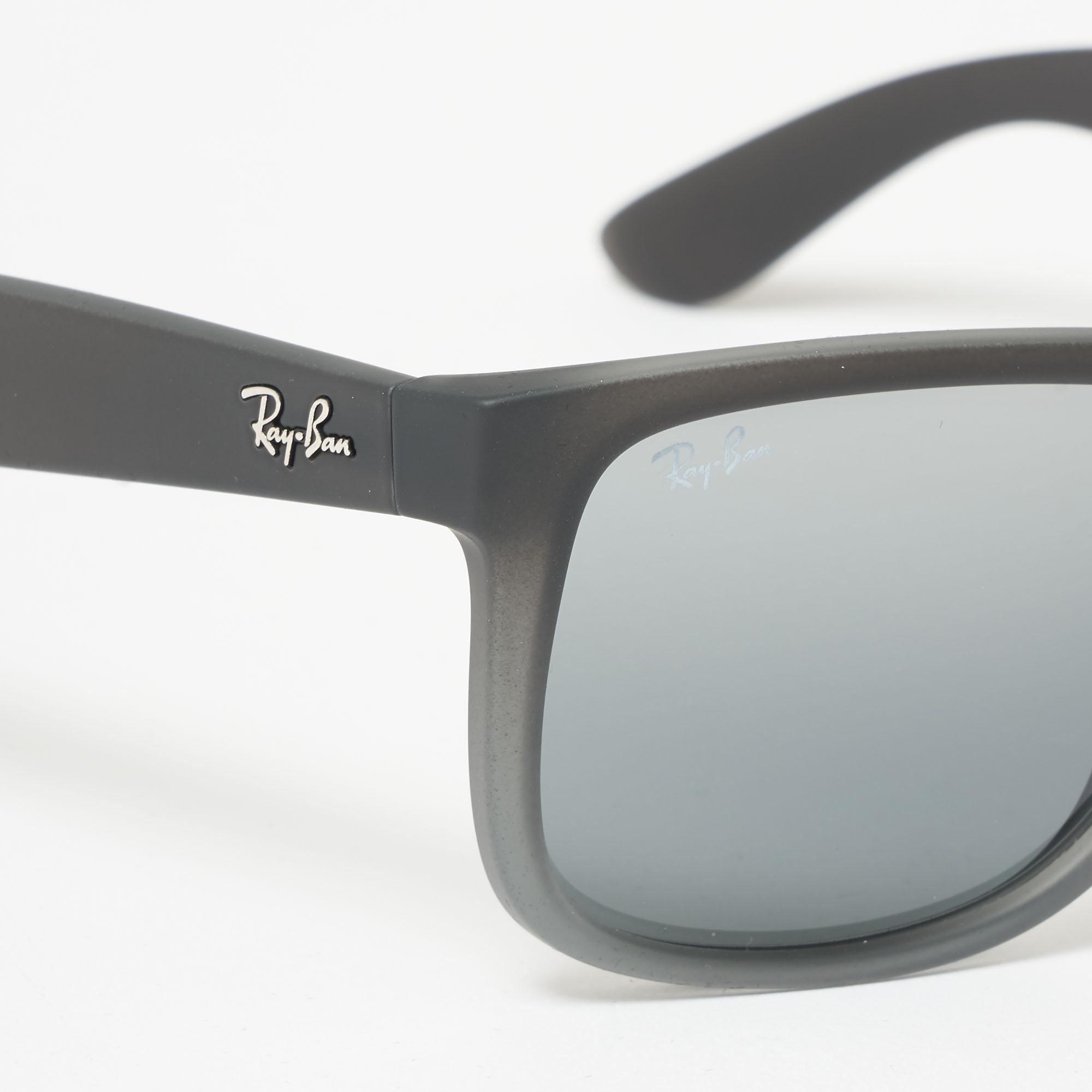 b711ddd397 Ray-Ban - Gray Smoke Grey Justin Sunglasses - Silver Gradient Mirror Lenses  for Men. View fullscreen