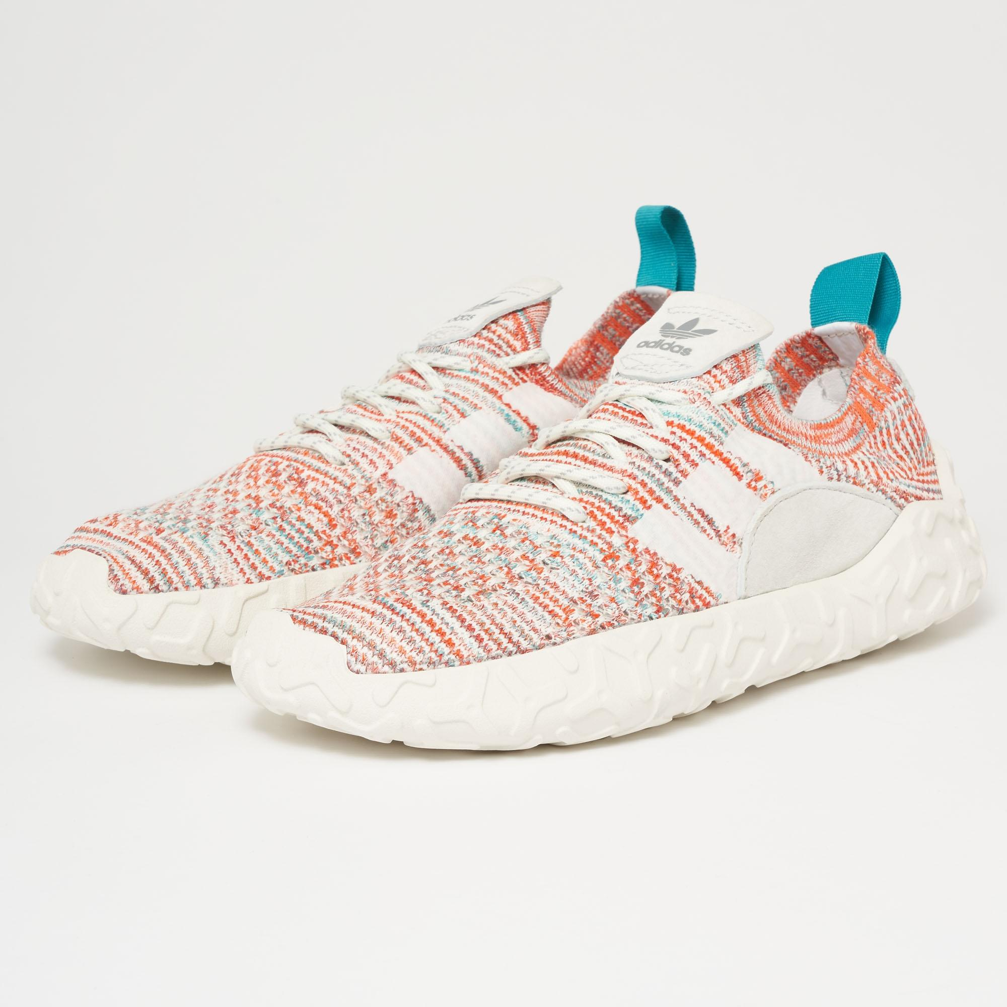 adidas Originals F/22 PK FTWR White-Crystal White-Trace Orange 105