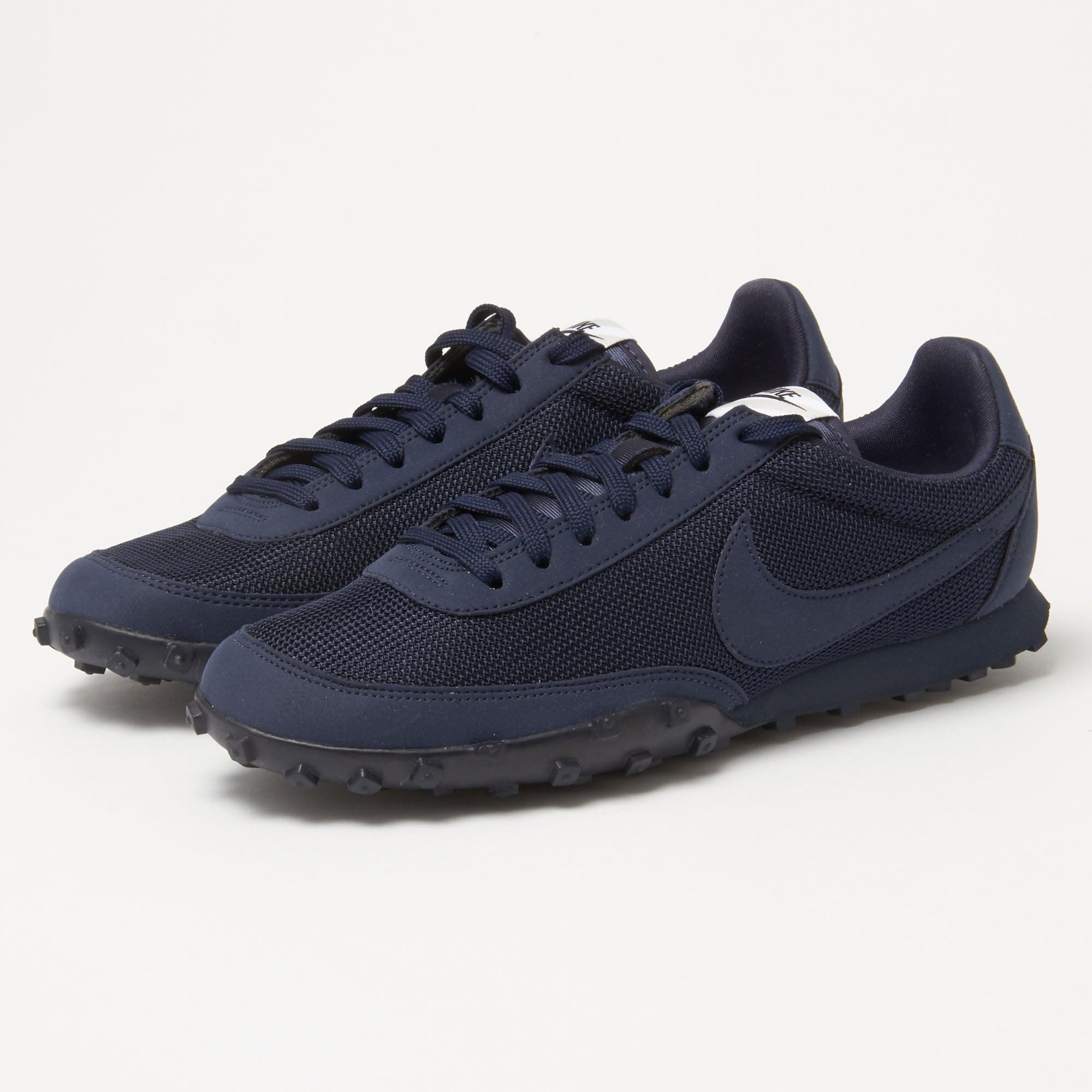 lyst nike waffle racer 39 17 prm obsidian sneaker in blue. Black Bedroom Furniture Sets. Home Design Ideas