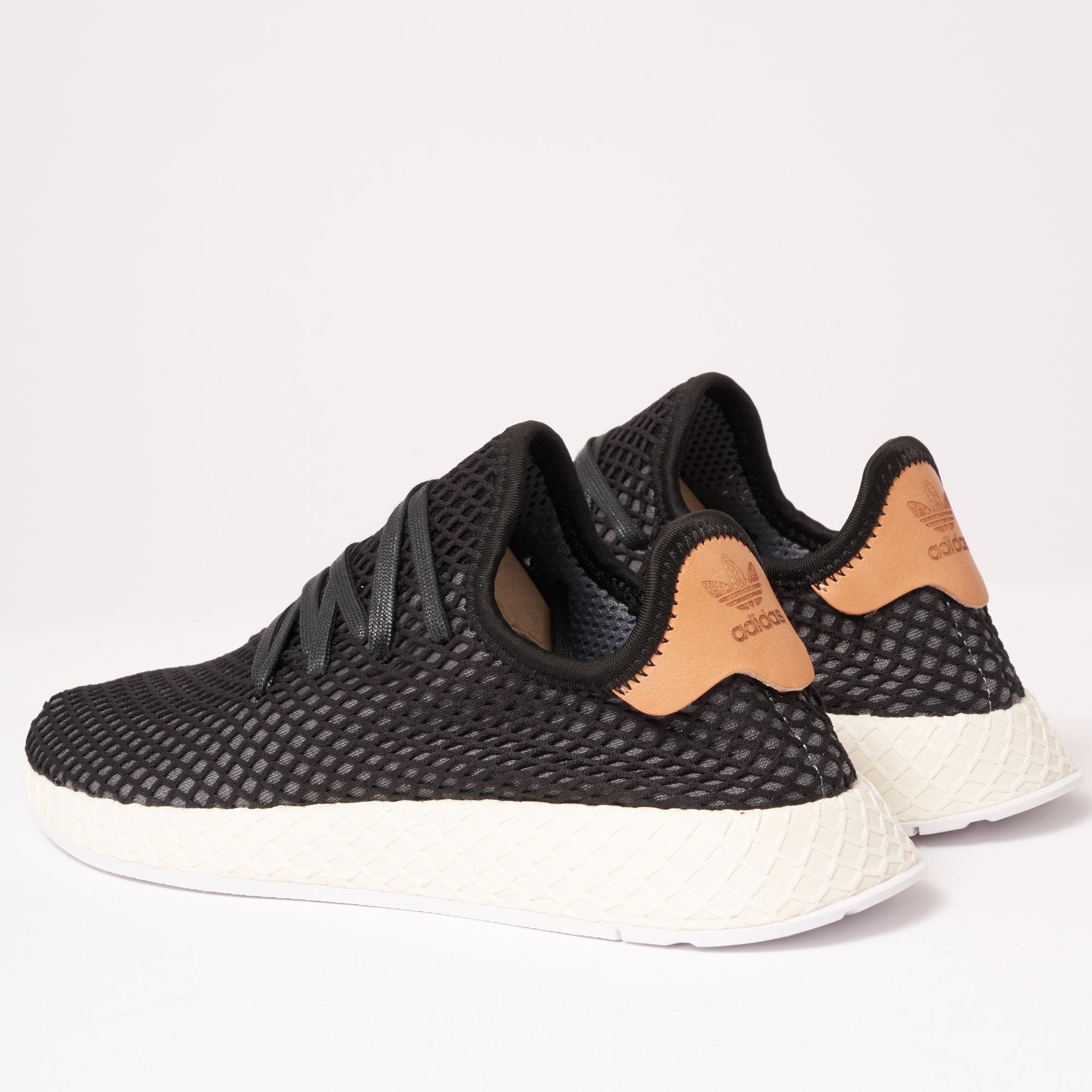 100% authentic 0b2a1 c0db9 Adidas Originals - Deerupt Runner - Core Black  Ash Pearl for Men - Lyst.  View fullscreen