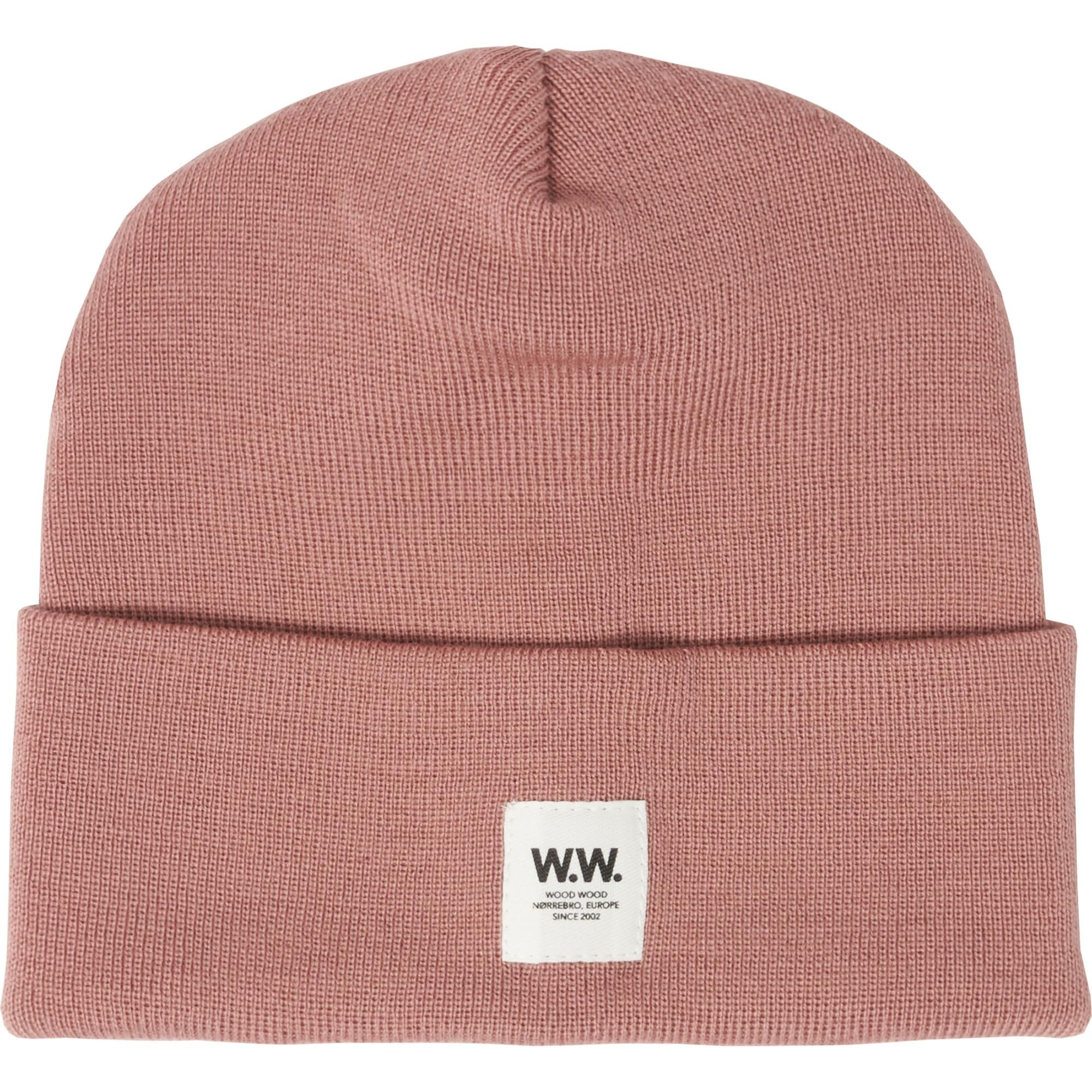 3cad697750df7 WOOD WOOD Gerald Tall Beanie - Dark Rose in Pink for Men - Lyst
