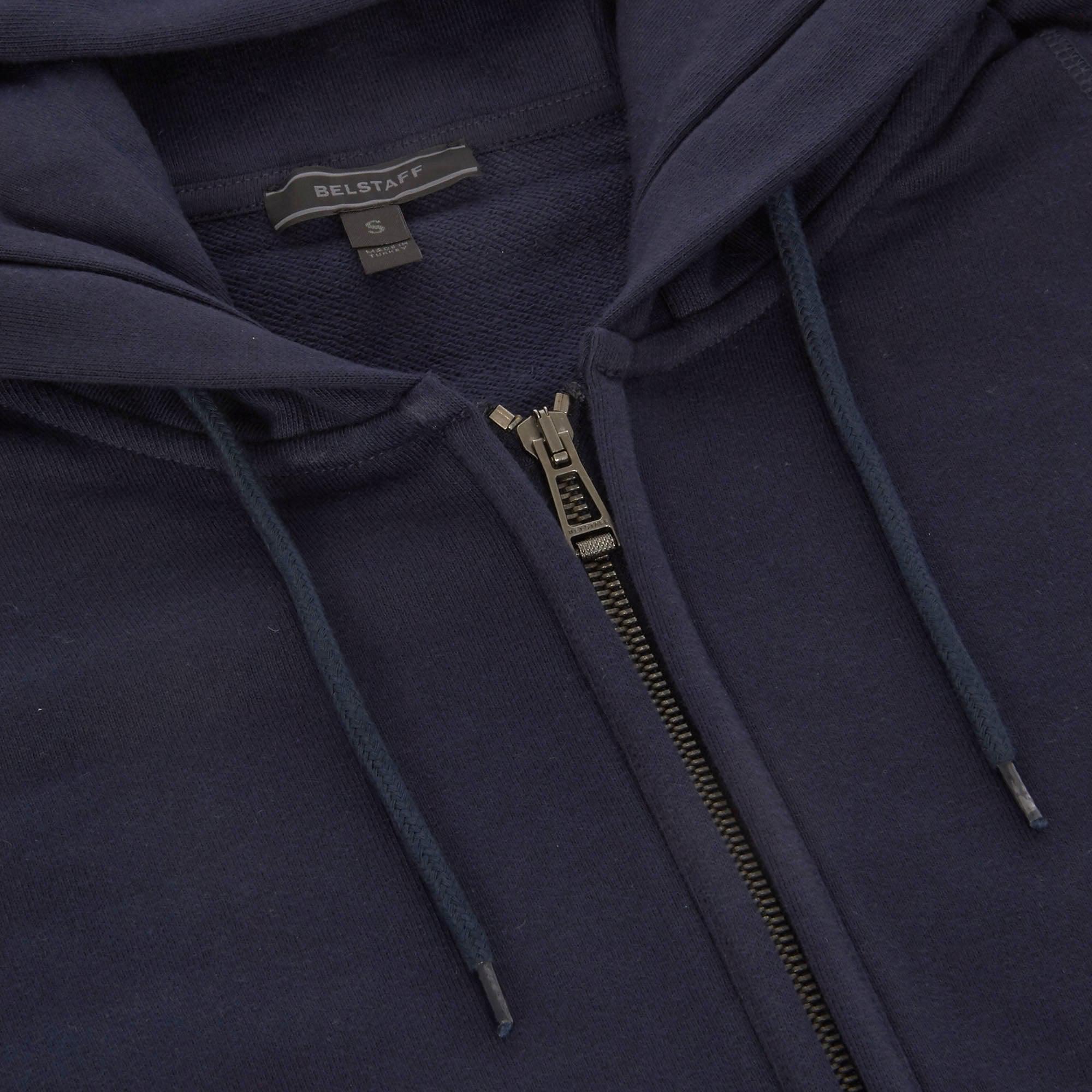42c929685fa4 Belstaff - Blue Wentworth Hoodie - Navy for Men - Lyst. View fullscreen