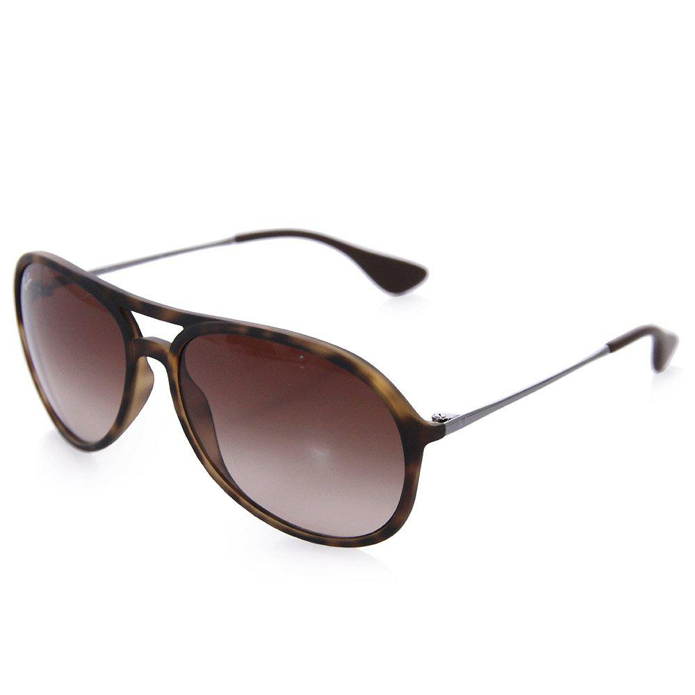 73755c90bd Lyst - Ray-Ban Tortoise Alex Sunglasses - Brown Gradient Lenses in ...