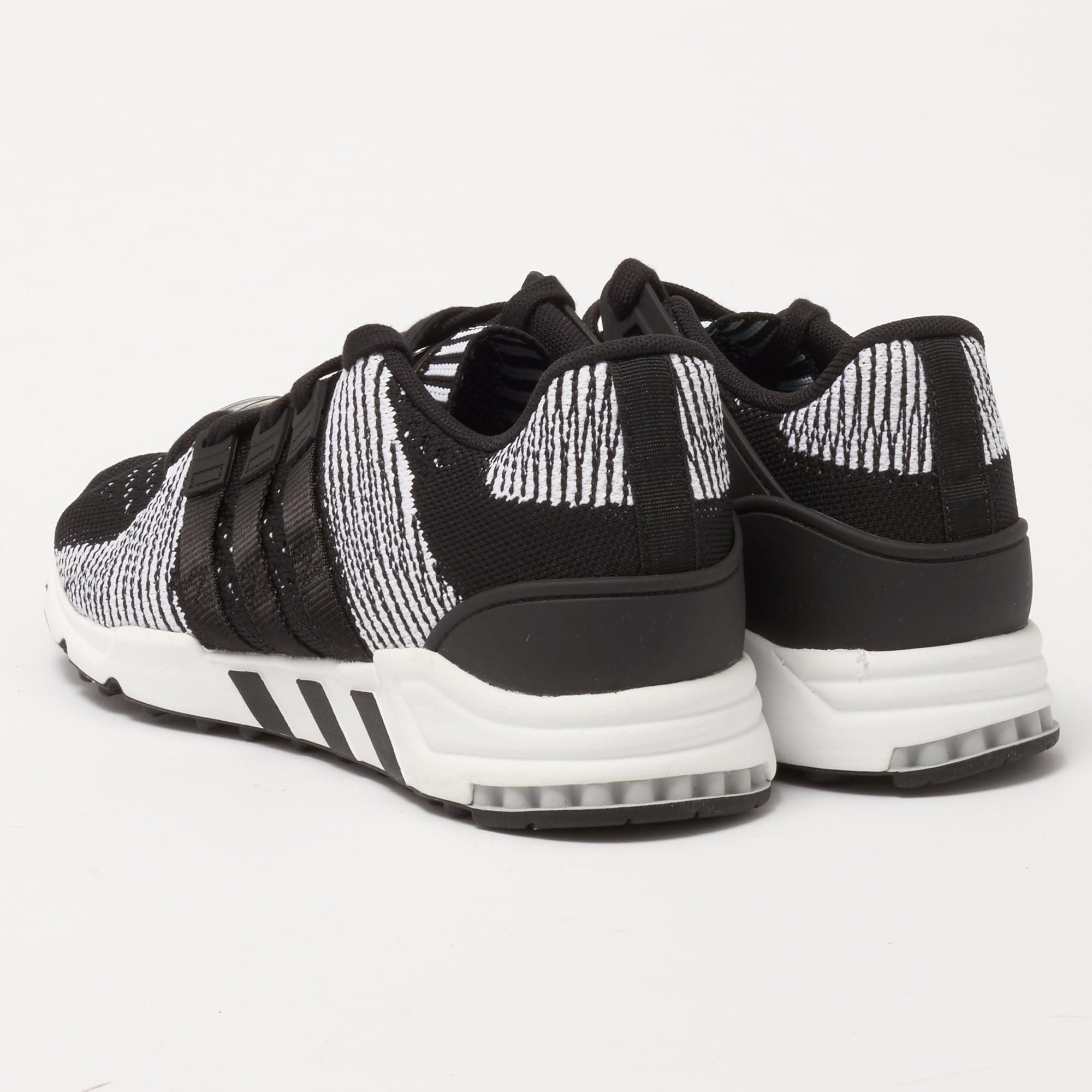 super popular 19d49 1f714 Adidas Originals - Eqt Support Rf Primeknit - Core Black  Ftw White for  Men -. View fullscreen