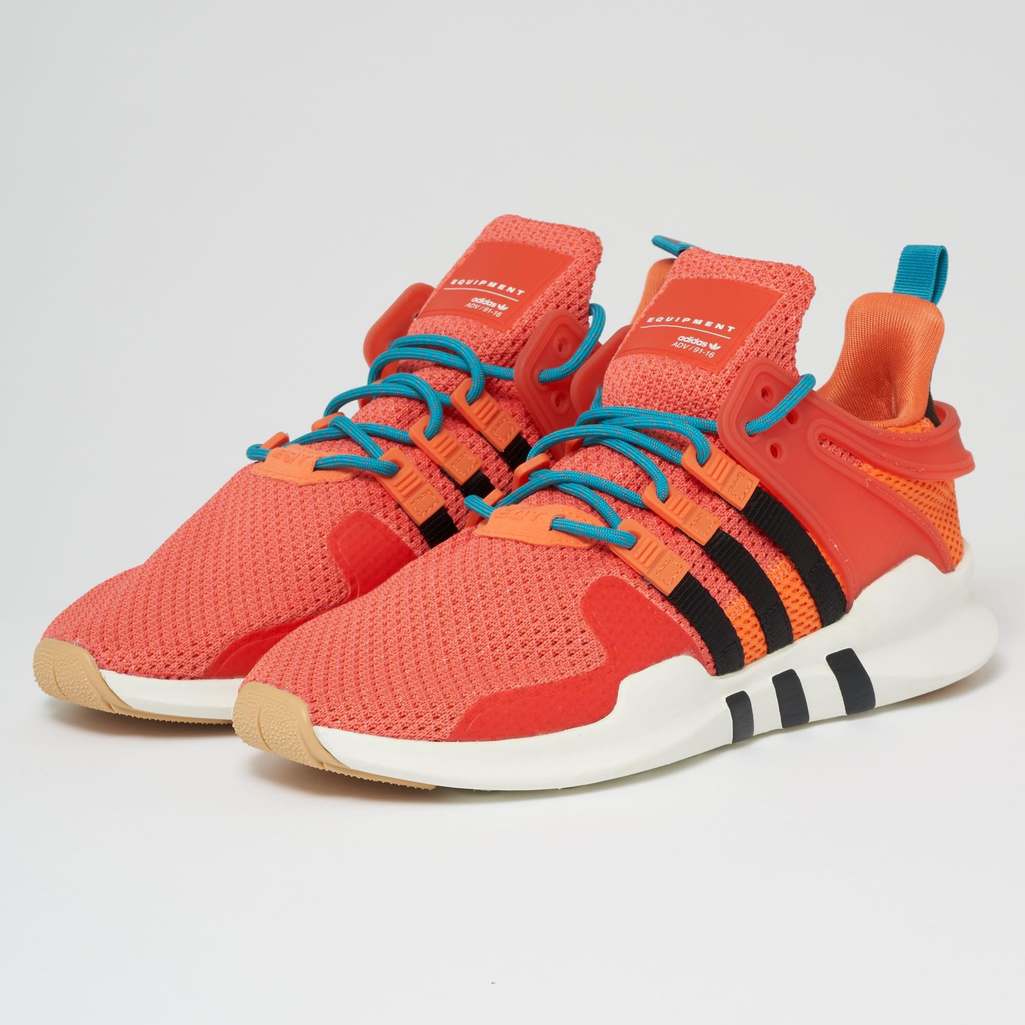 adidas Originals EQT SUPPORT ADV SUMMER - Trainers - trace orange/white tint 45mK9lU
