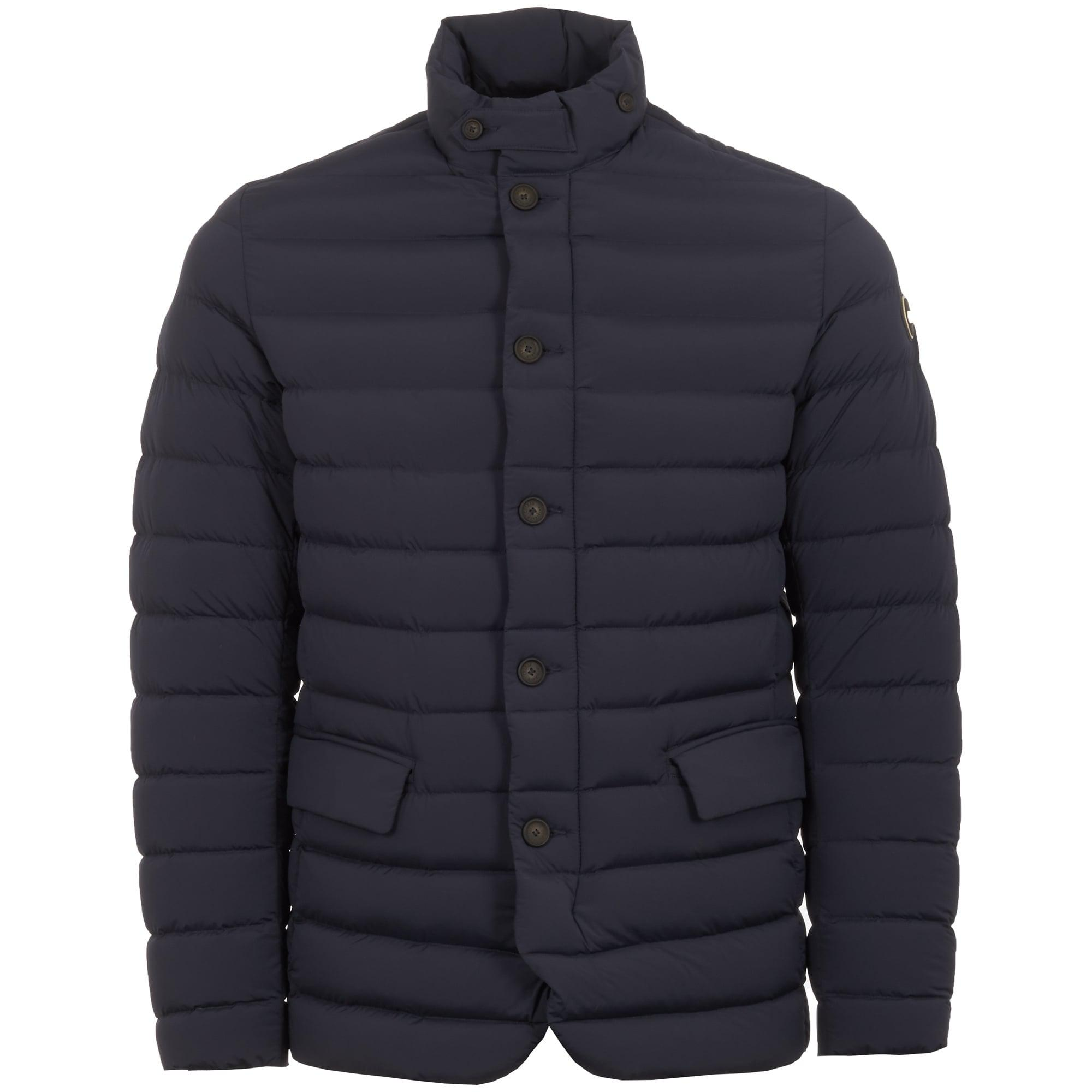 3e275fe0956 COLMAR ORIGINALS Navy Down Jacket in Blue for Men - Lyst