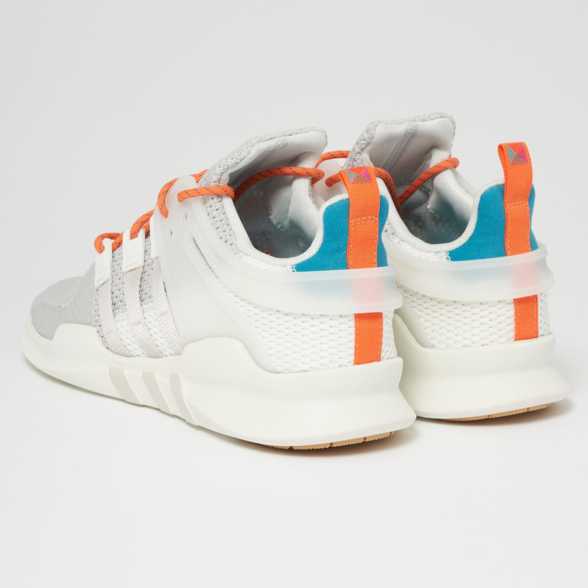 adidas Originals EQT SUPPORT ADV SUMMER - Trainers - white tint/chalk pearl CYE7E