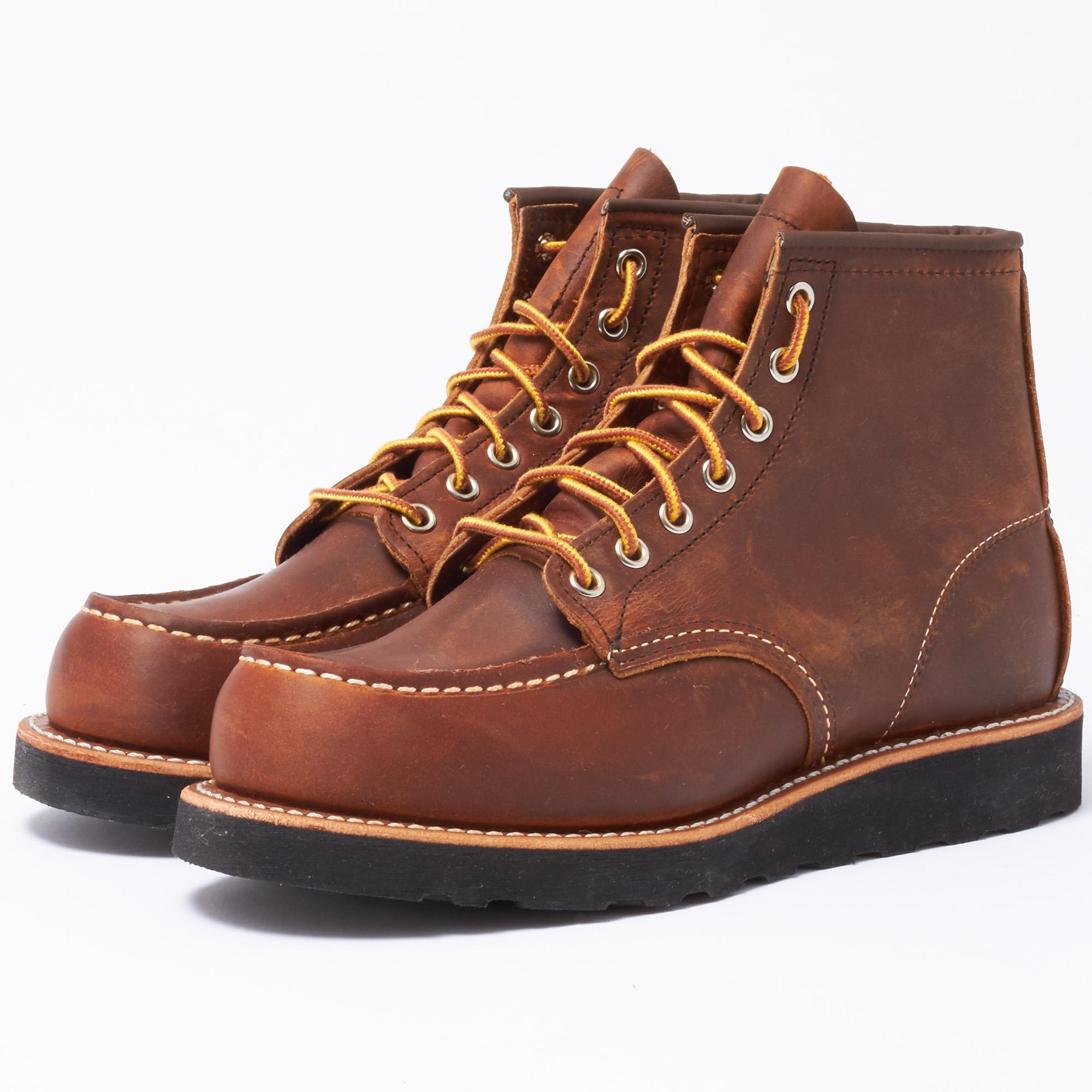 What Size Lace Red Wing Shoes Moc Toe