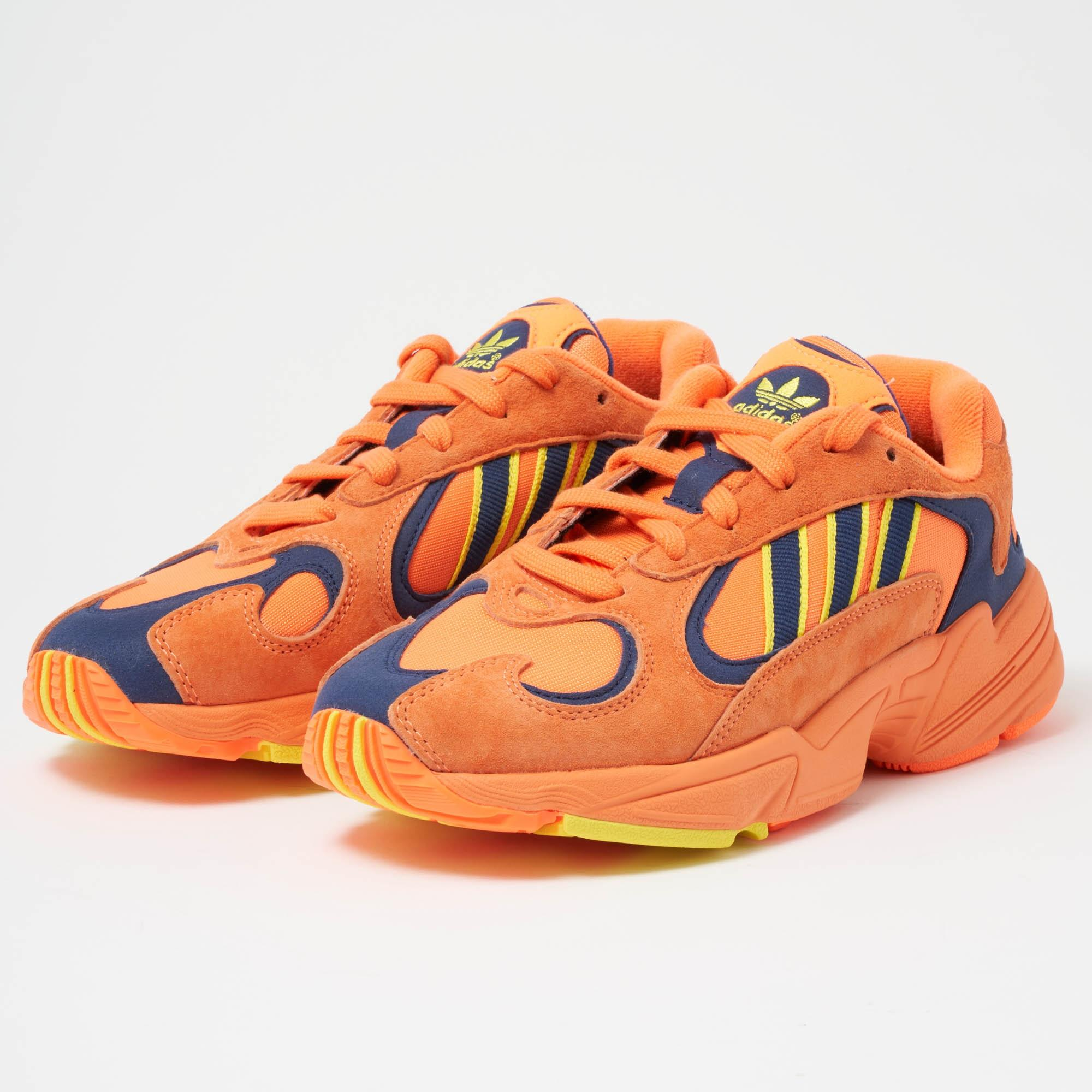 810c22d3df5 Lyst - adidas Originals Yung-1 - Hi-res Orange   Shock Yellow in ...