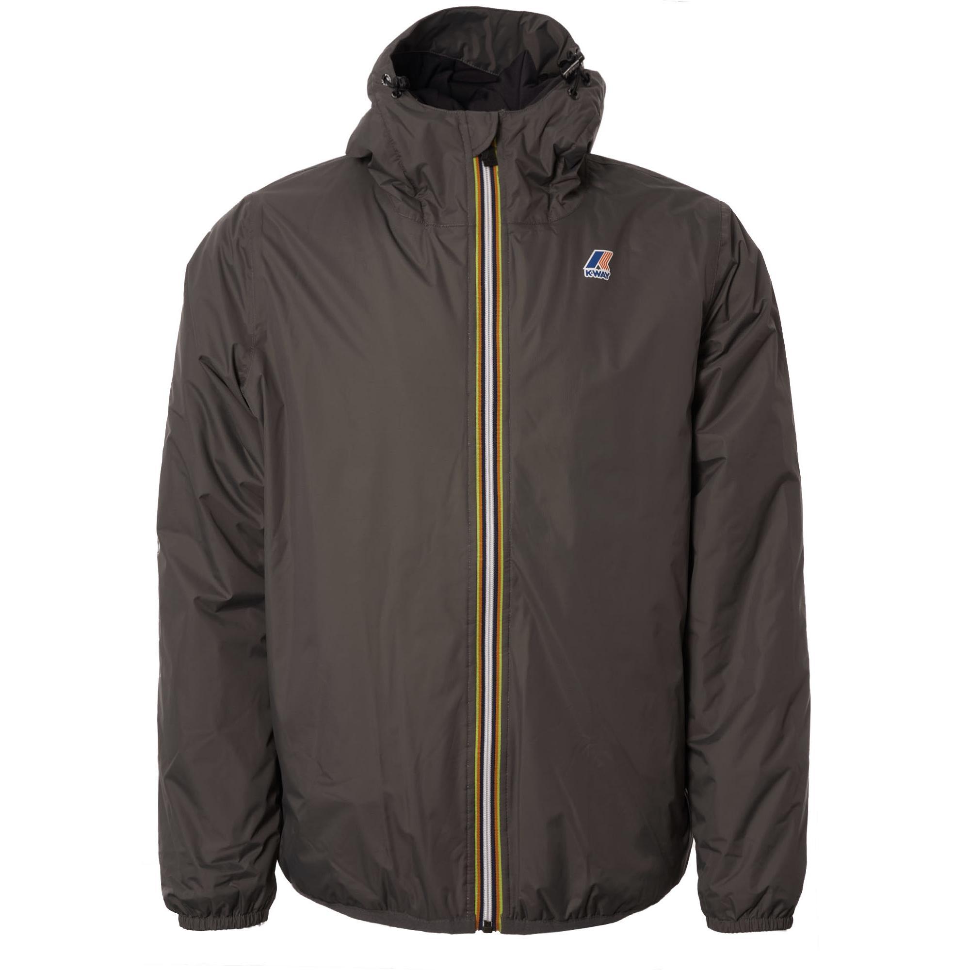 855fa65e5639 K-Way Le Vrai 3.0 Claude Padded Jacket - Grey Smoke in Gray for Men ...