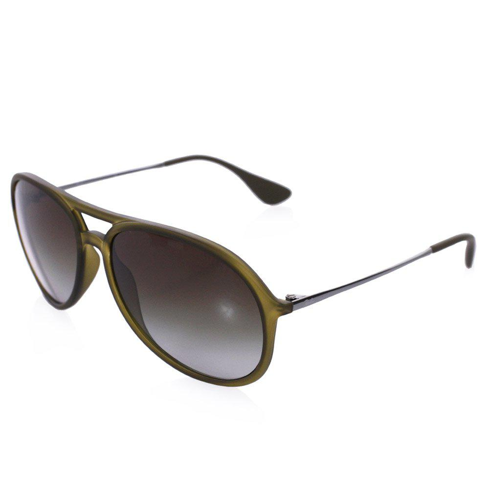 a452507297 new arrivals ray ban green alex sunglasses grey gradient lenses in green  for 73e41 3cbe7