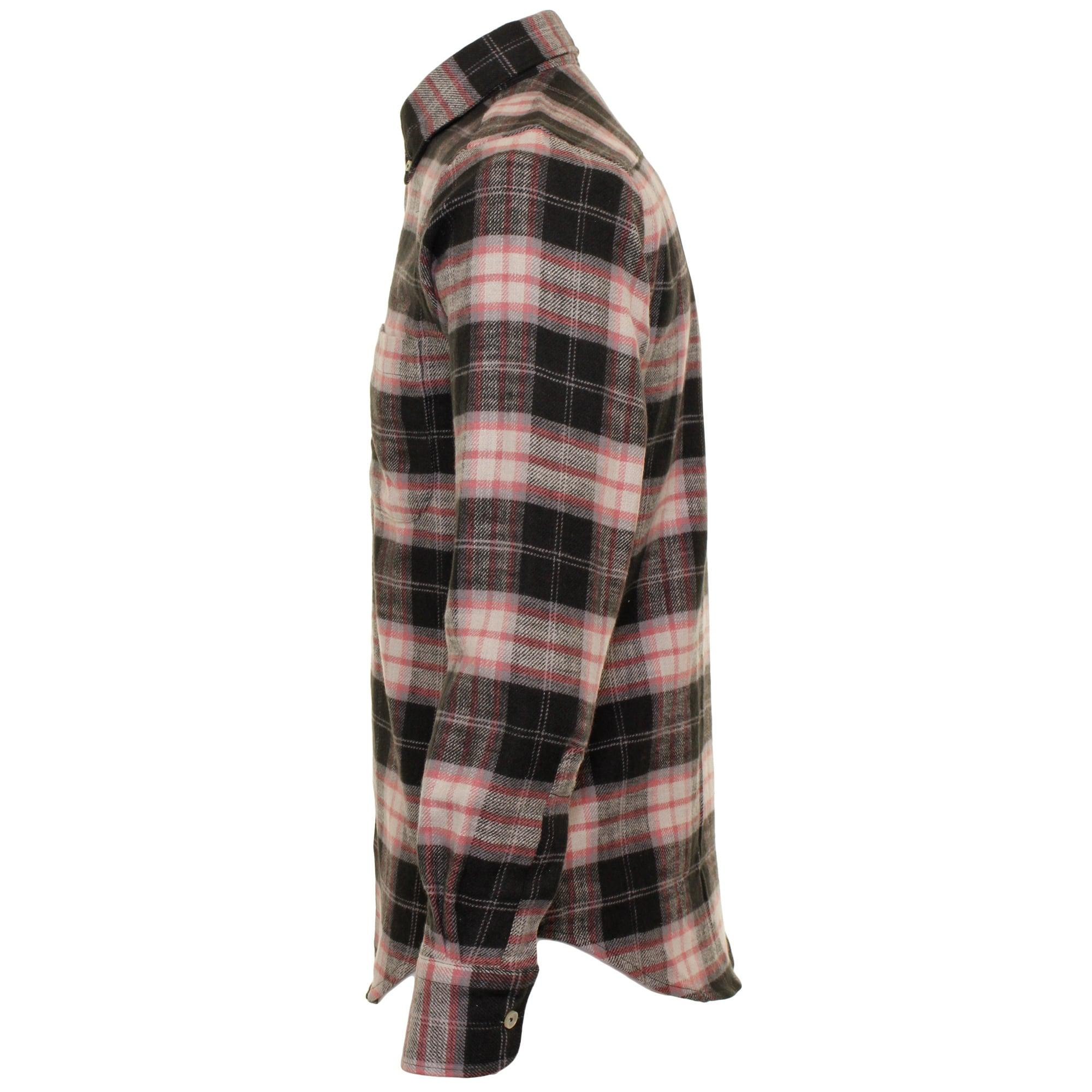 Lyst - Naked  Famous Naked And Famous Super Heavy Flannel Dark Green Check Shirt In -3941