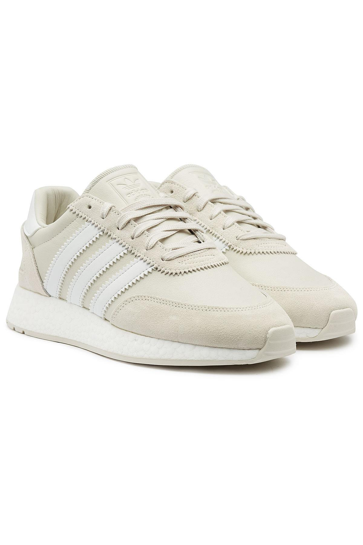 Men's Natural Leather And Suede I 5923 Sneakers