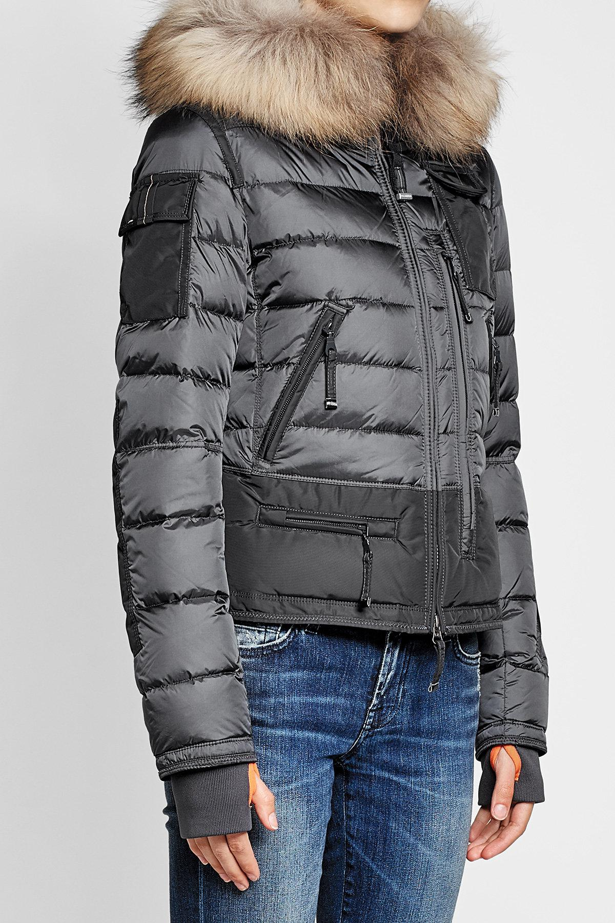 parajumpers quilted down coat