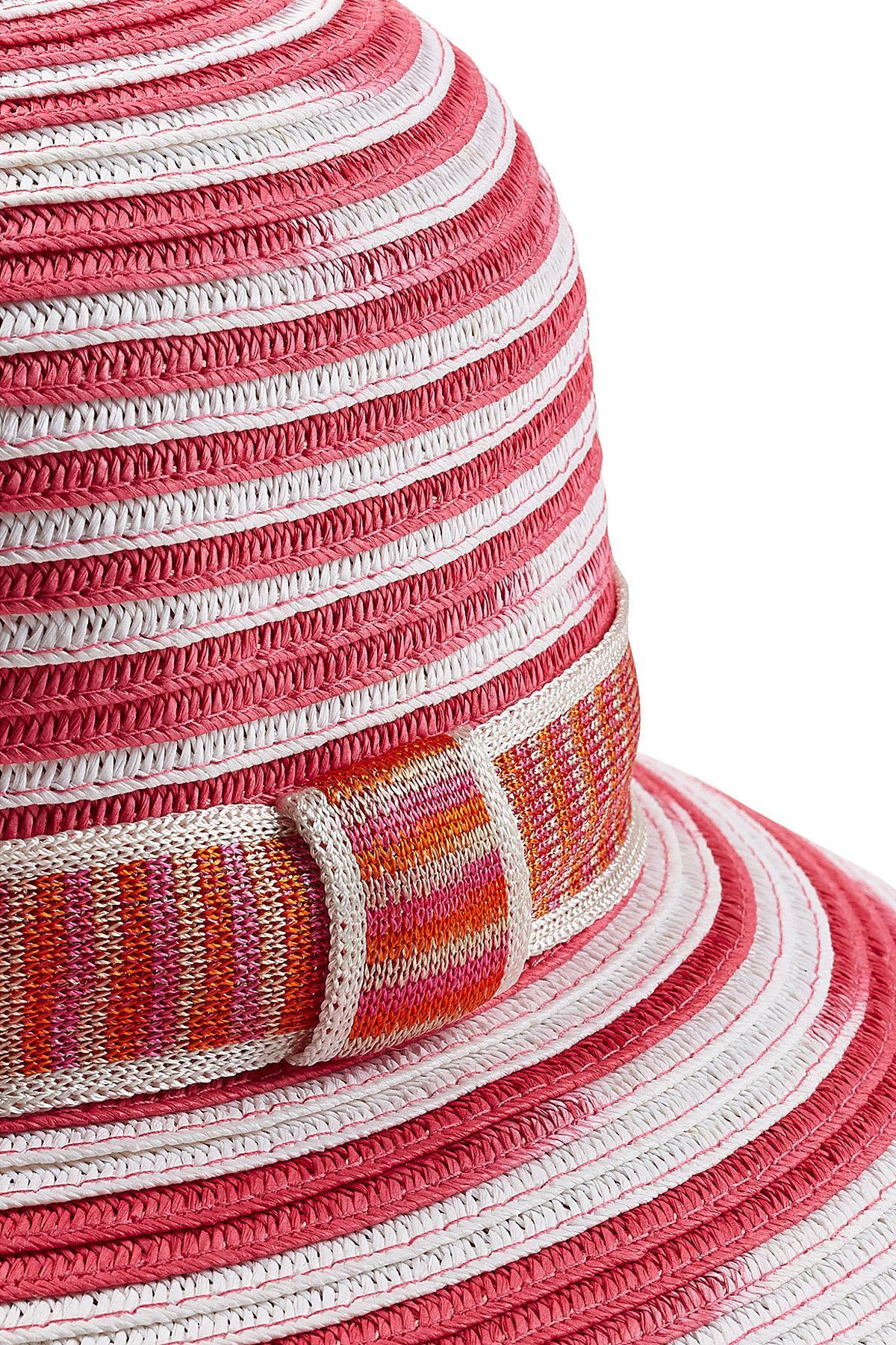 Missoni Straw Hat in Red - Save 24.096385542168676% - Lyst 9e6b156cb2b7