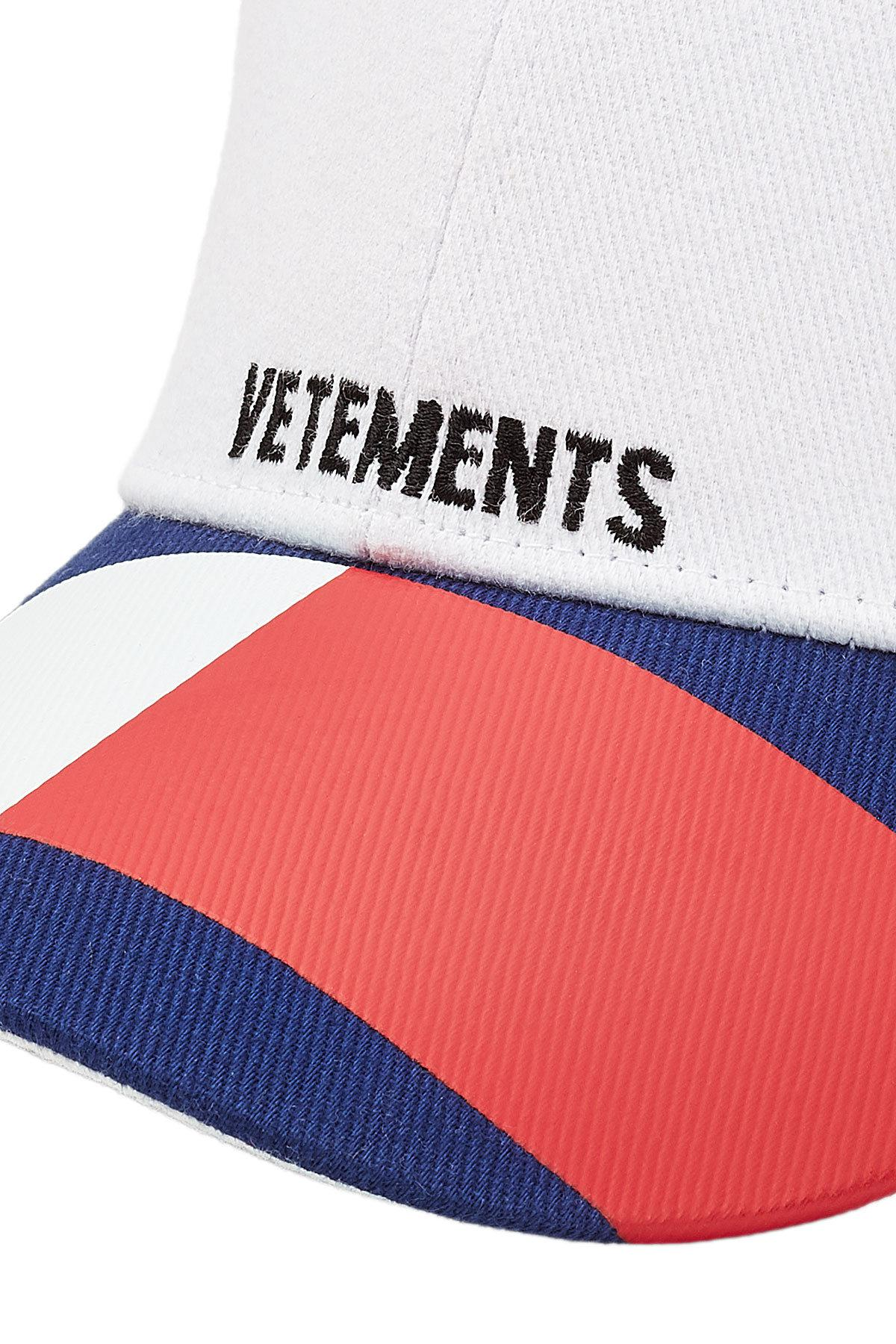 ba17418dcf0baf Vetements X Tommy Hilfiger Cotton Baseball Cap for Men - Lyst