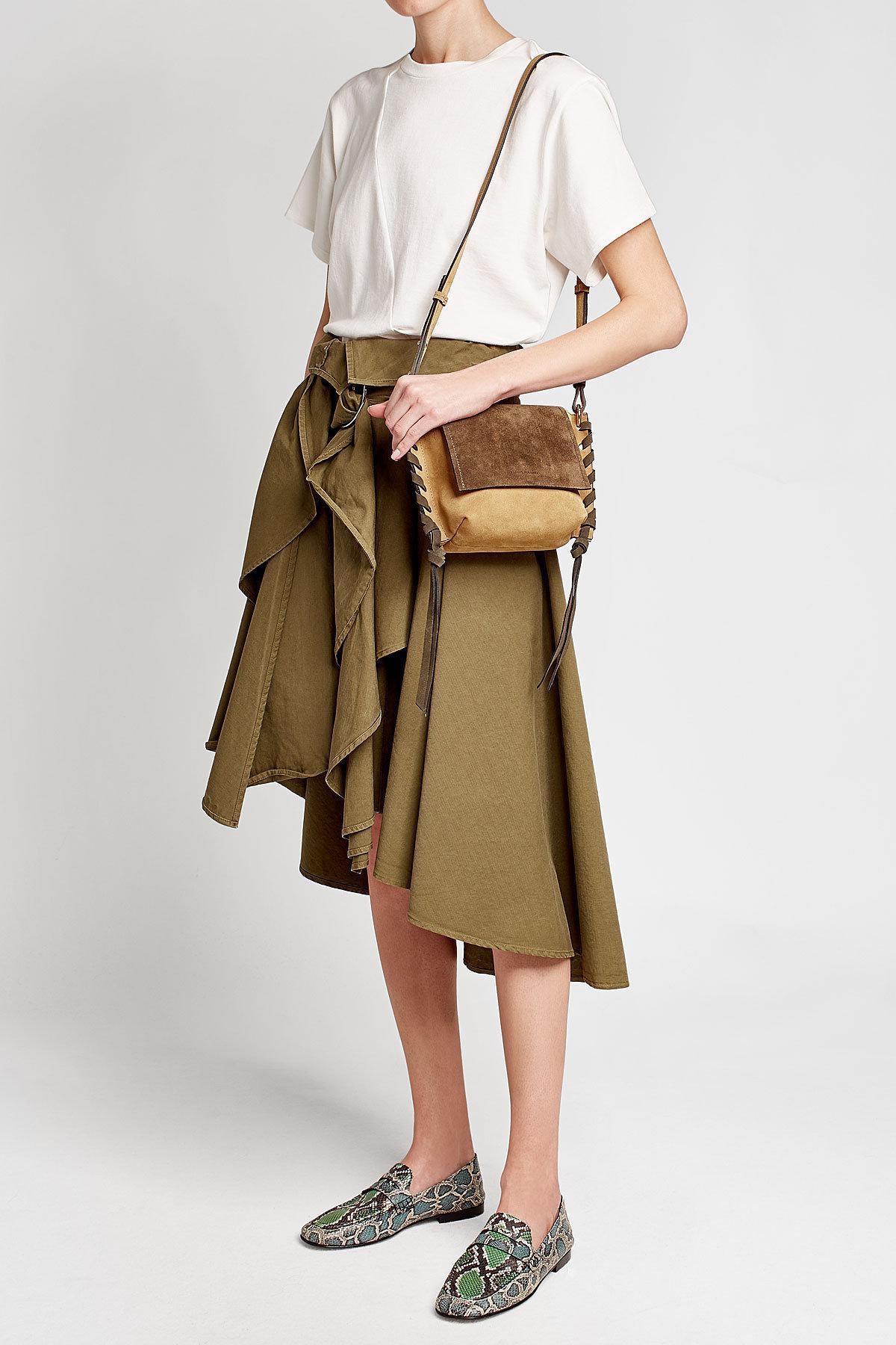 7941807bb4 Lyst - Isabel Marant Kleny Suede Shoulder Bag