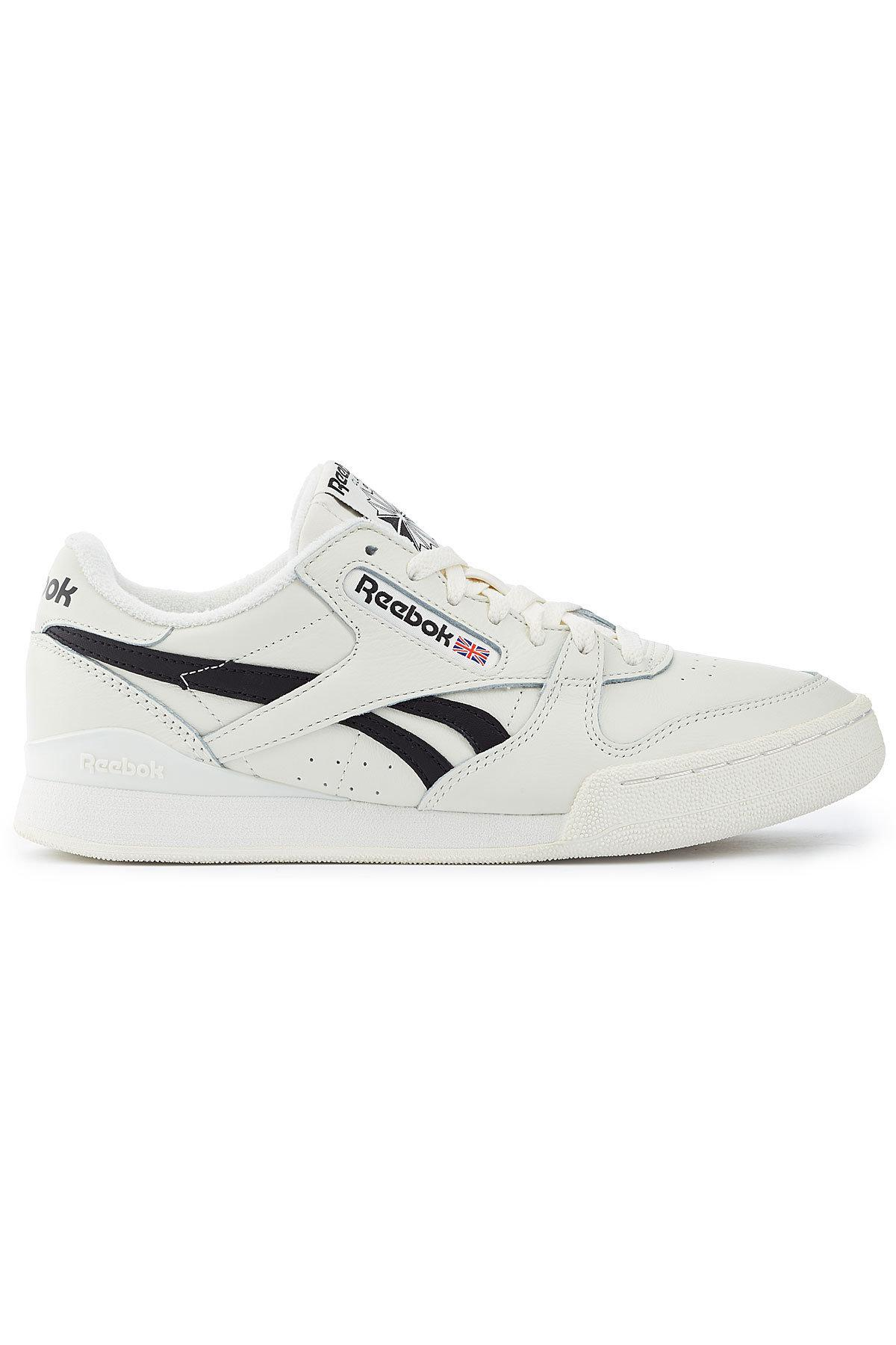 Lyst - Reebok Phase 1 Pro Mu Leather Sneakers for Men cefab63c8