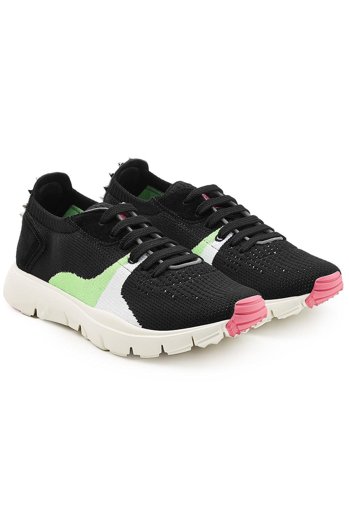 ValentinoKnit Low Sneakers