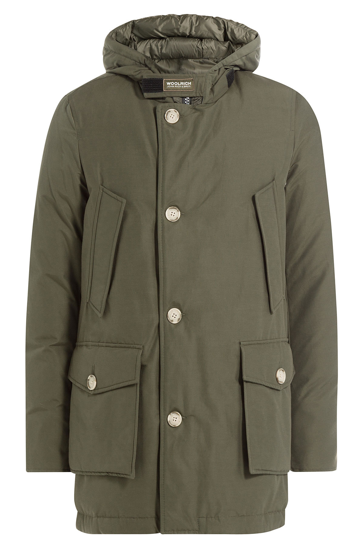woolrich down arctic parka green in green for men lyst. Black Bedroom Furniture Sets. Home Design Ideas