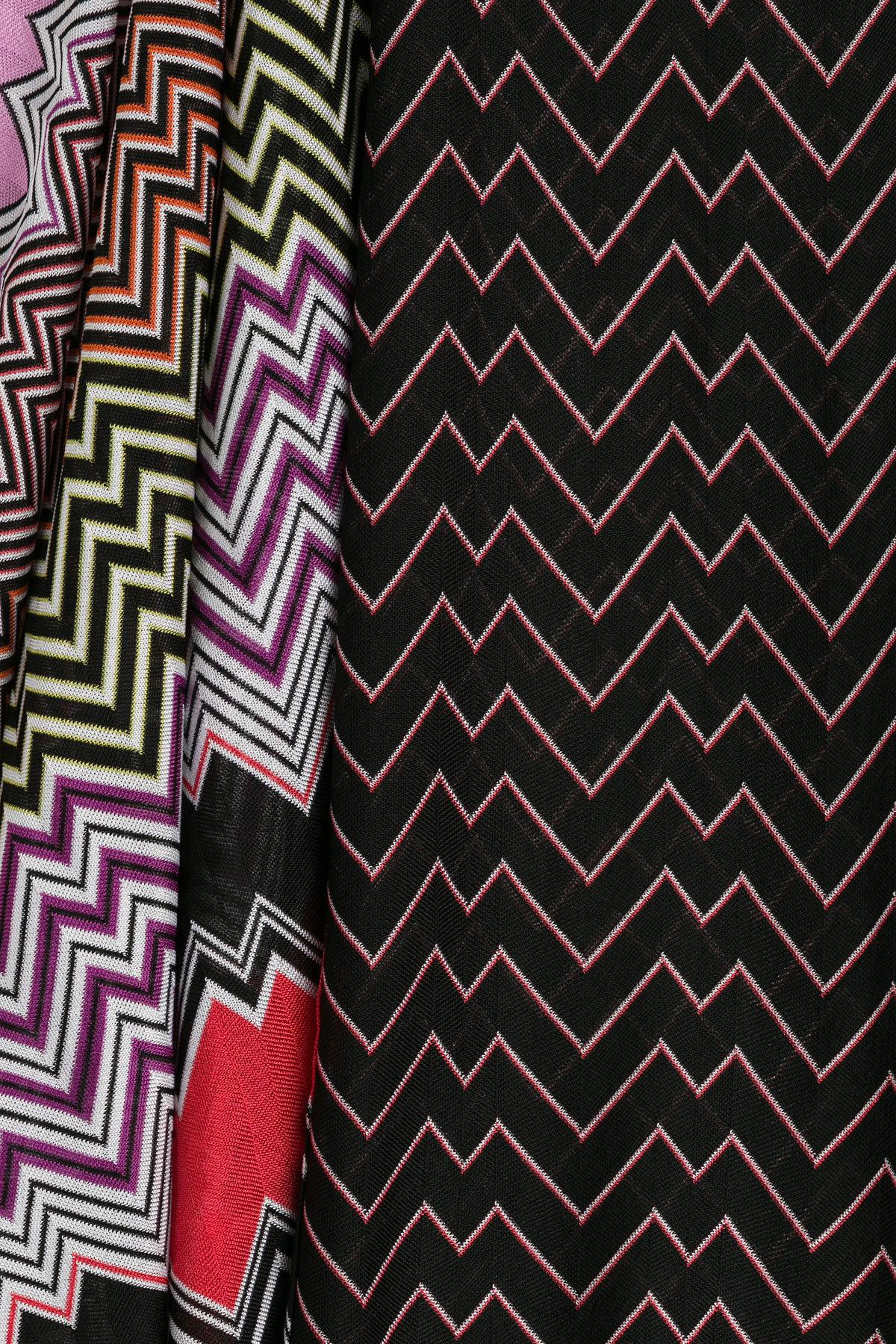 Missoni - Multicolor Draped Midi-skirt With Patchwork Print - Lyst. View  fullscreen de4cd99131353