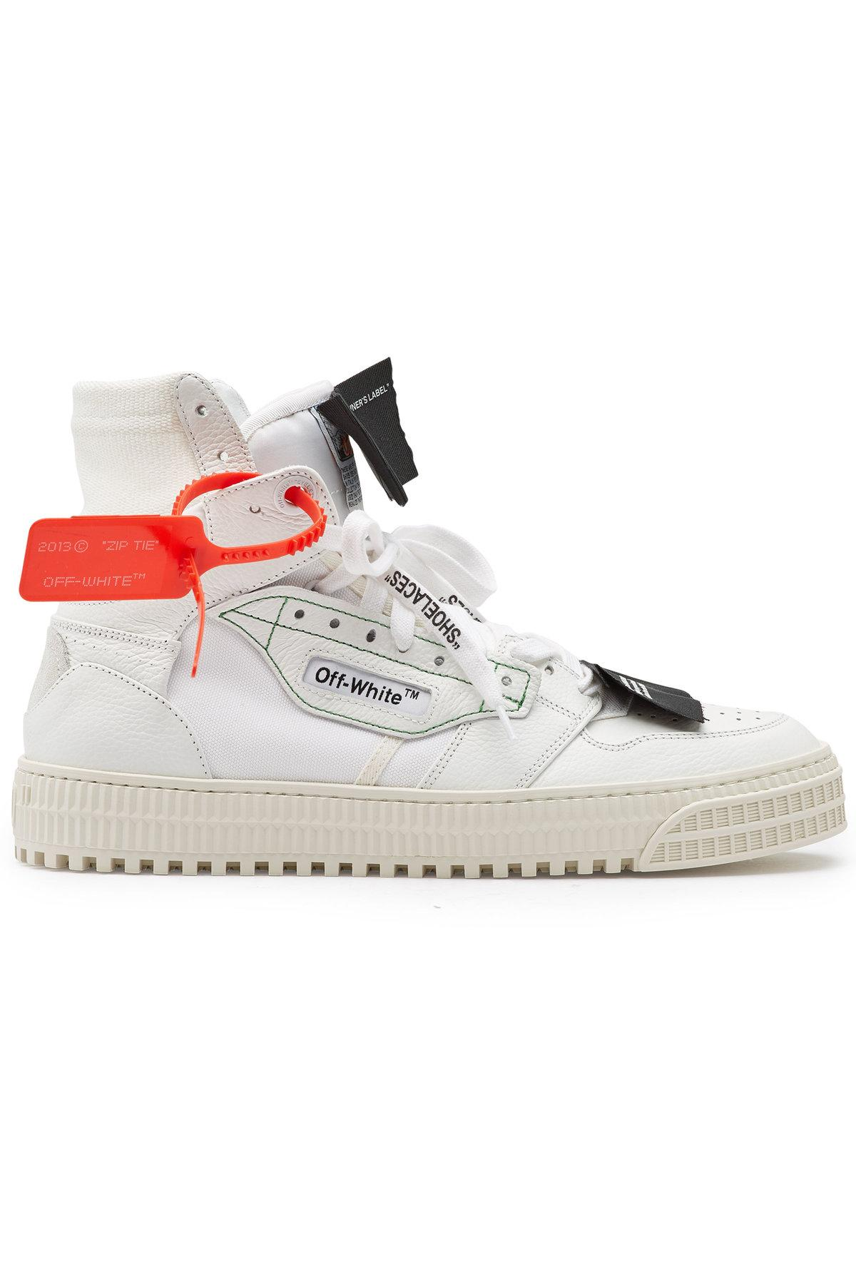 cba00cc19b82 ... Virgil Abloh - Multicolor Leather And Fabric Off Court Sneakers. View  fullscreen