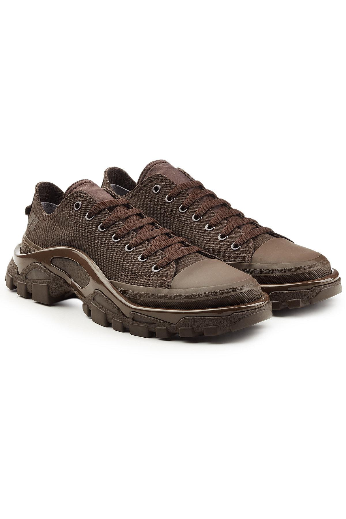 huge selection of 26d1a 155ba Lyst - adidas By Raf Simons Rs Detroit Runner Sneakers in Br
