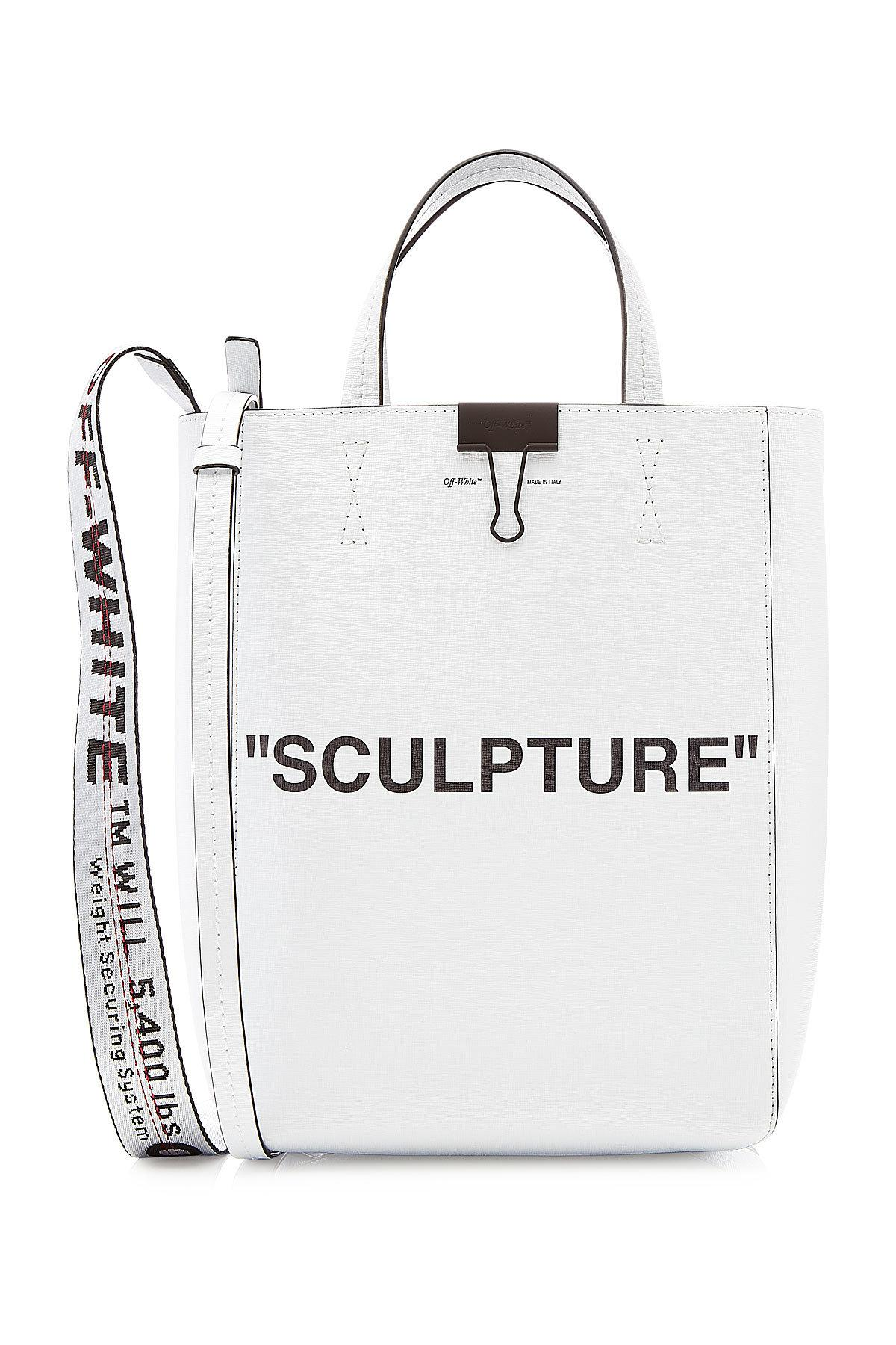 e6bf2130fbb1 Off-White c/o Virgil Abloh Medium Sculpture Leather Tote - Lyst