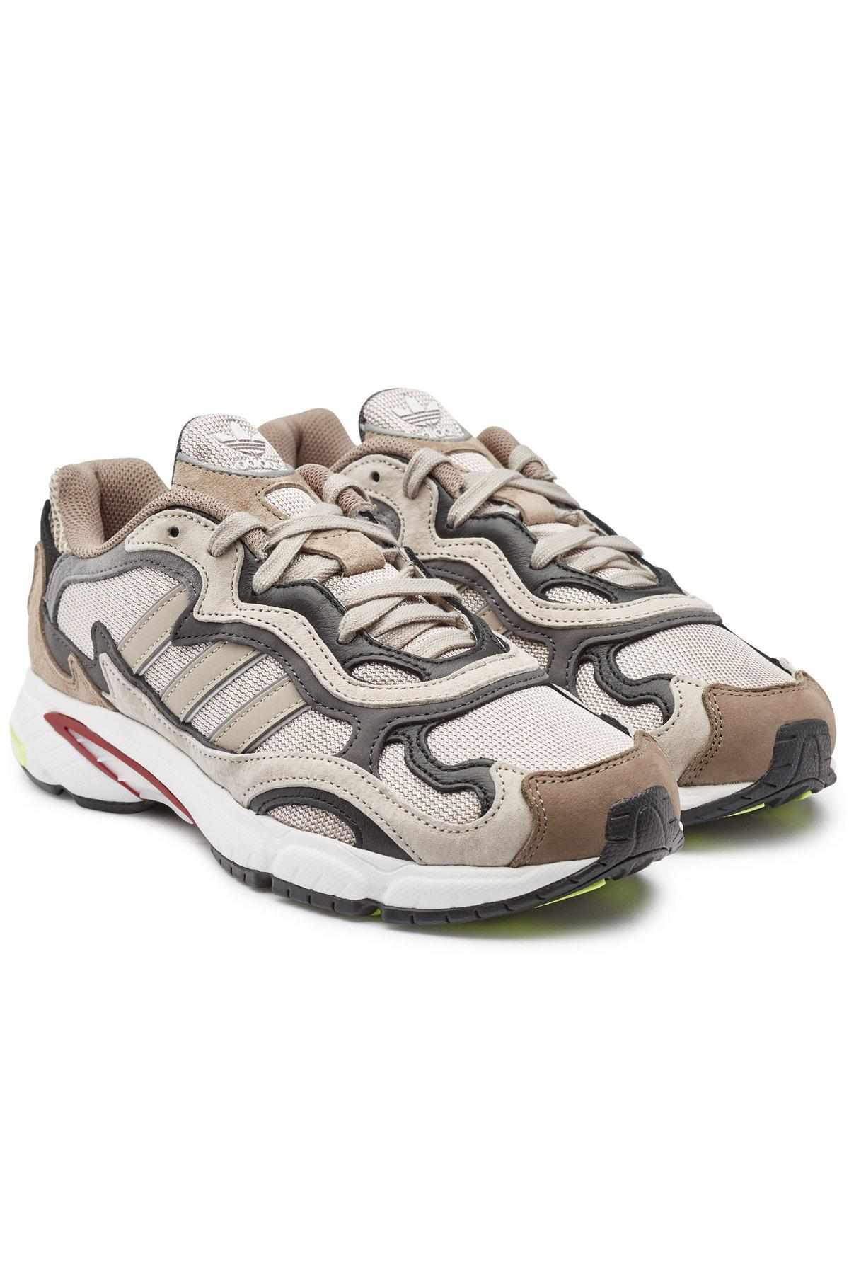the latest a6098 2782a adidas Originals. Men s Gray Temper Run Suede Sneakers ...