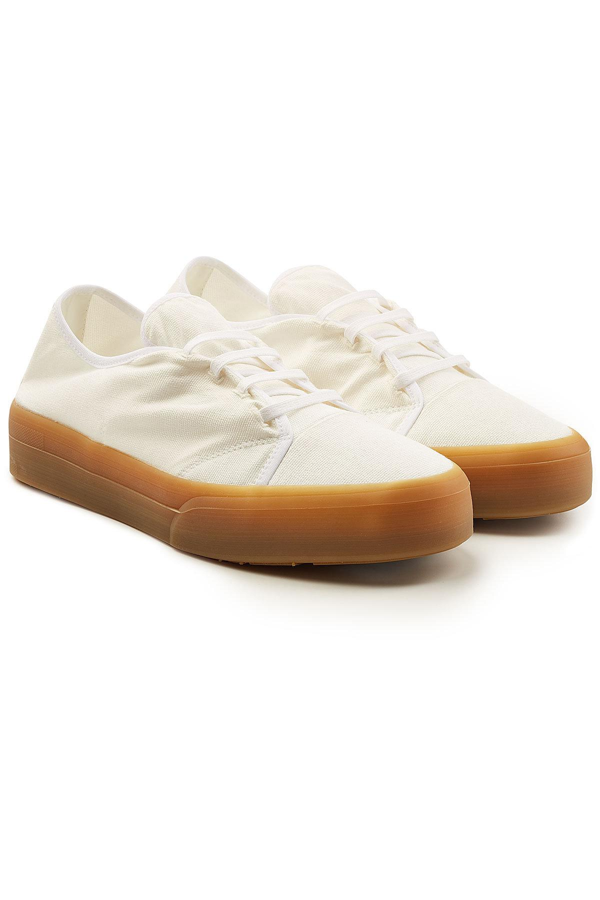 Jil SanderCanvas High-Top Sneakers OiLst6P