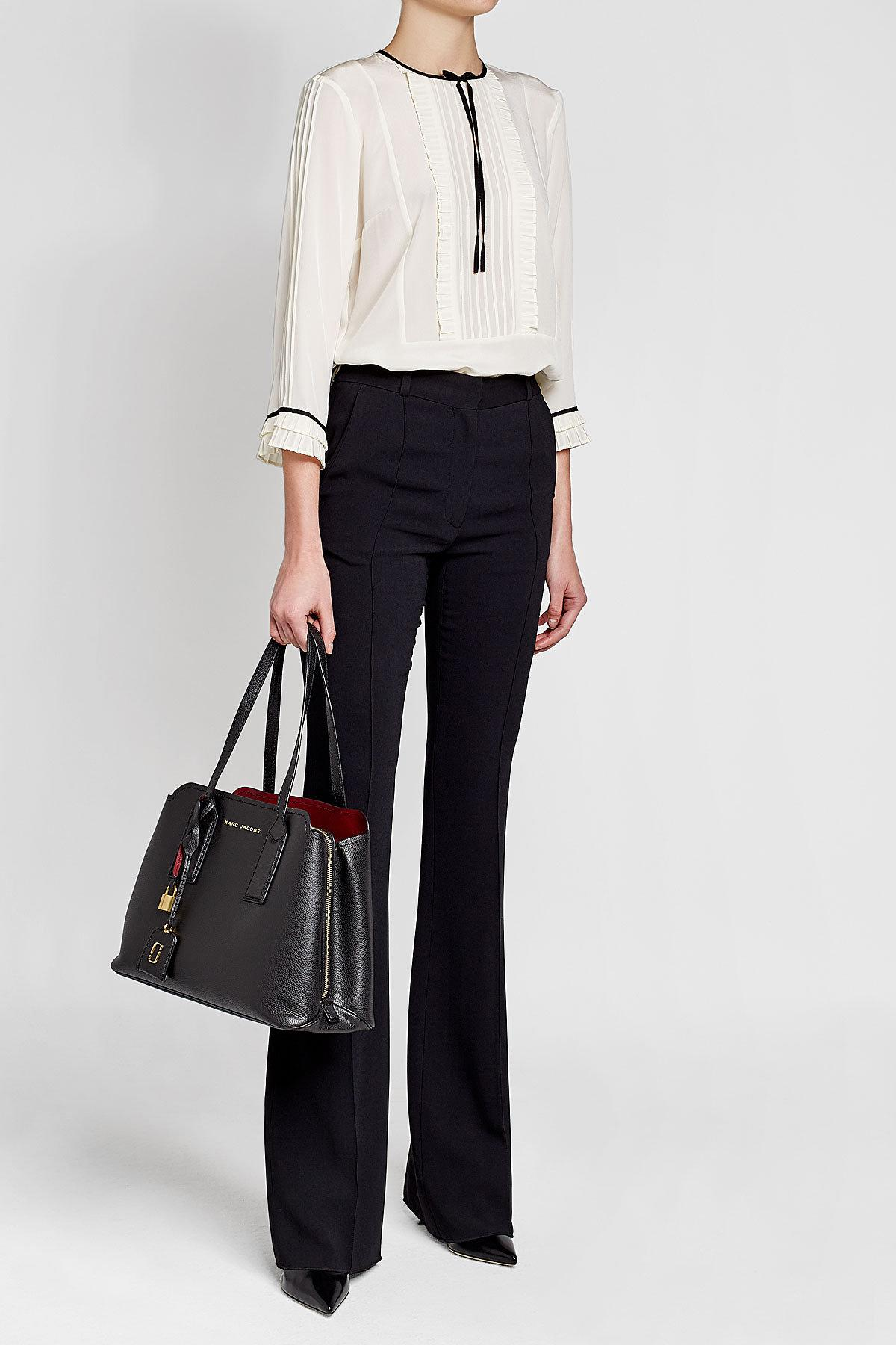 c2294e63e38f Lyst - Marc Jacobs The Editor Leather Tote in Black