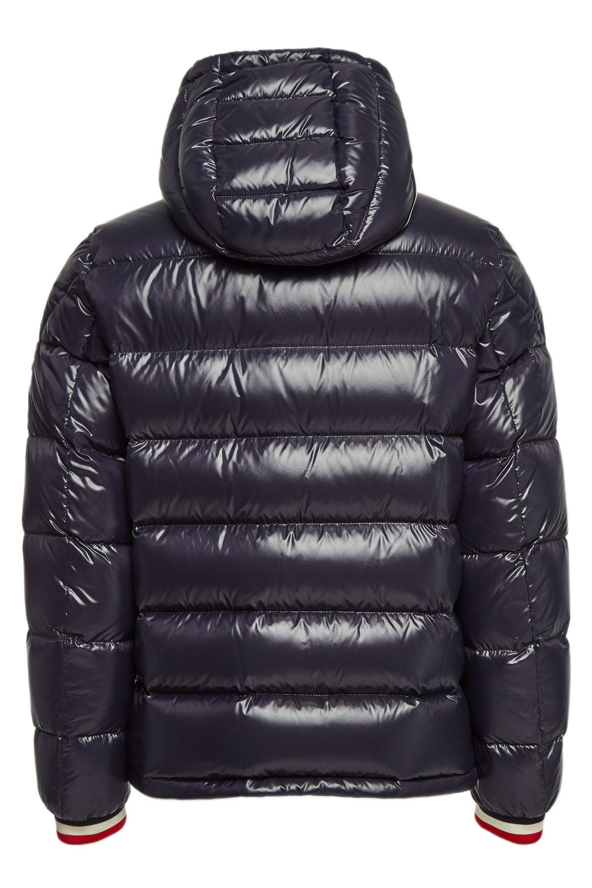 0351620ad Lyst - Moncler Alberic Quilted Down Jacket in Blue for Men