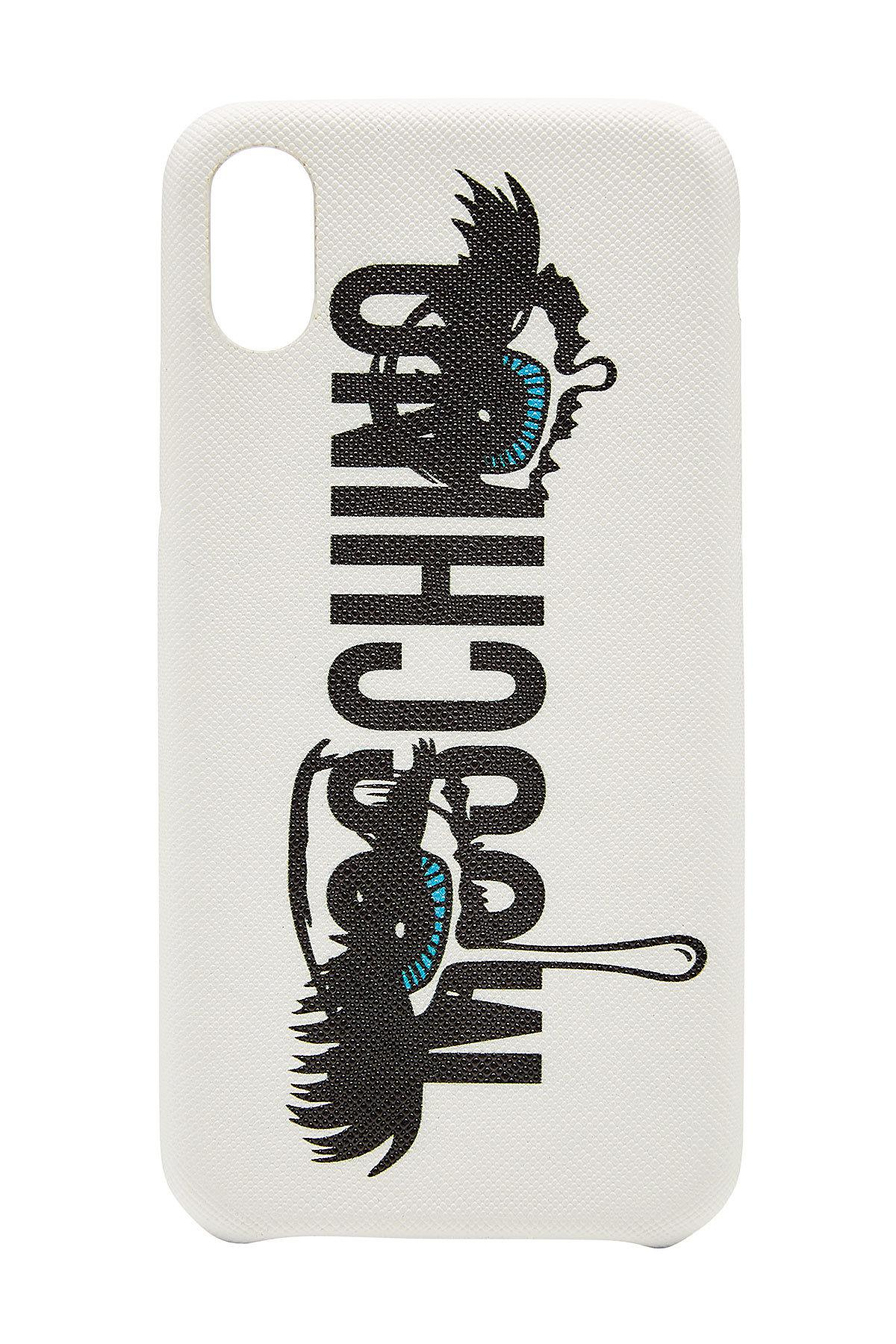 Moschino White Cover Iphone X bWglu