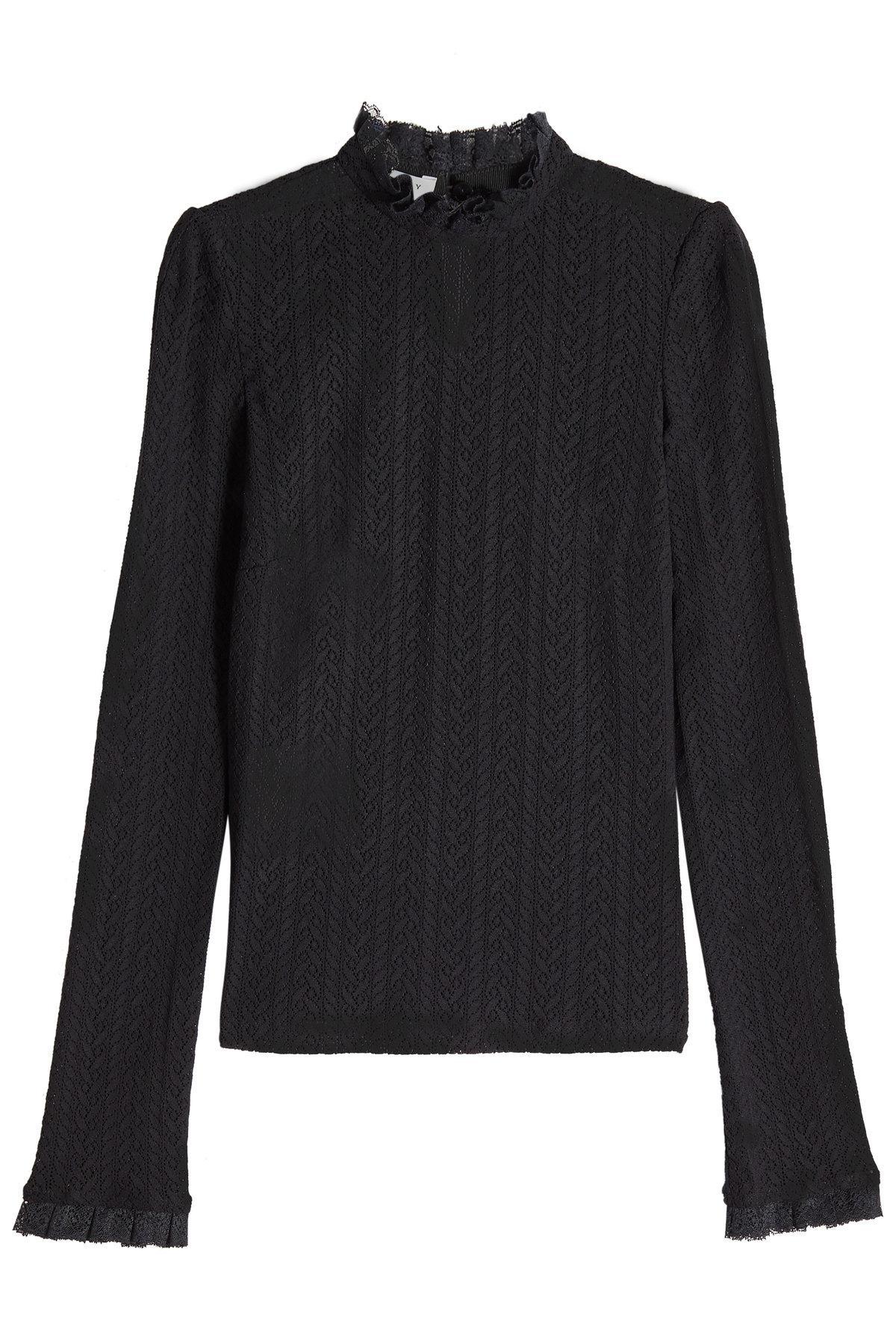 floral ruched neck blouse - Black Philosophy di Lorenzo Serafini Discount 2018 New Nicekicks Cheap Online q5eXeT3Yb7