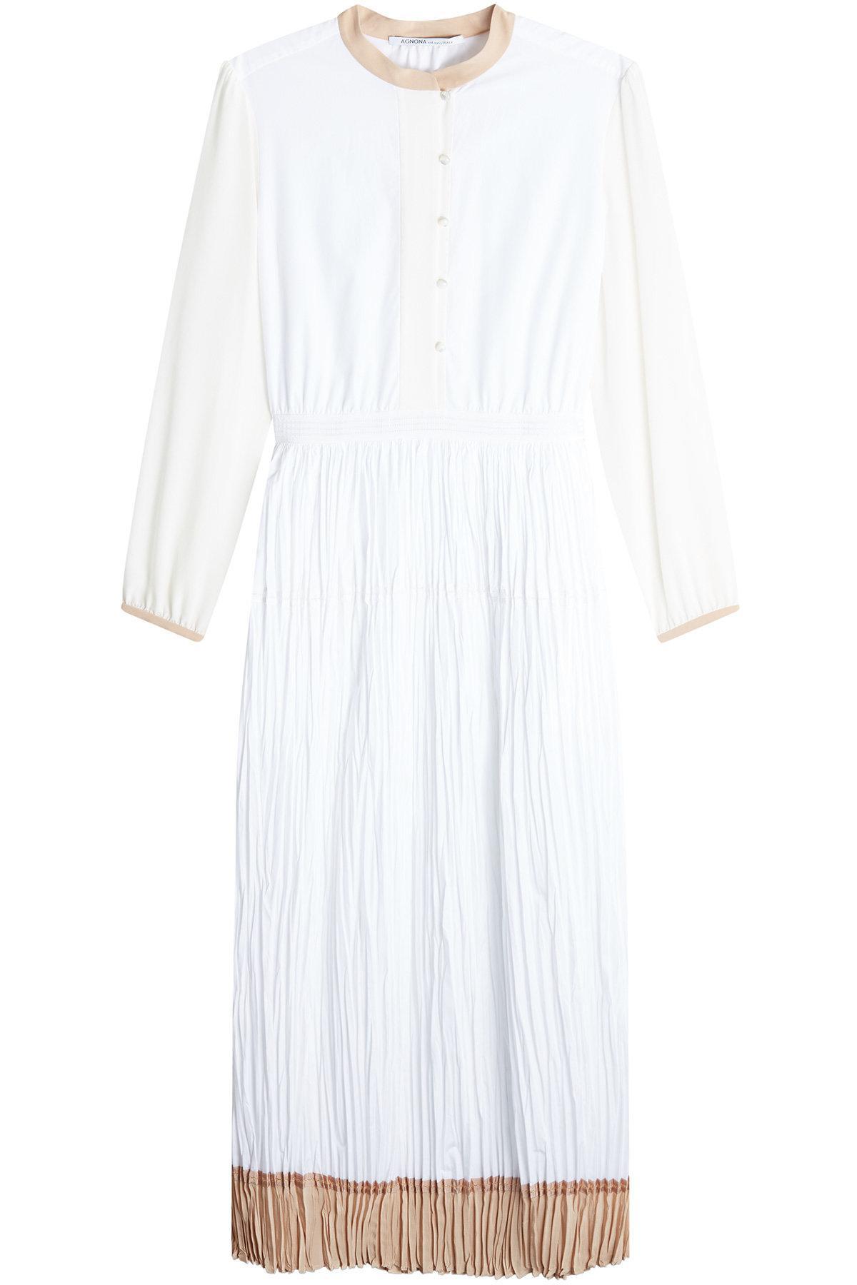 Cotton dress Agnona cgPqR5CSF