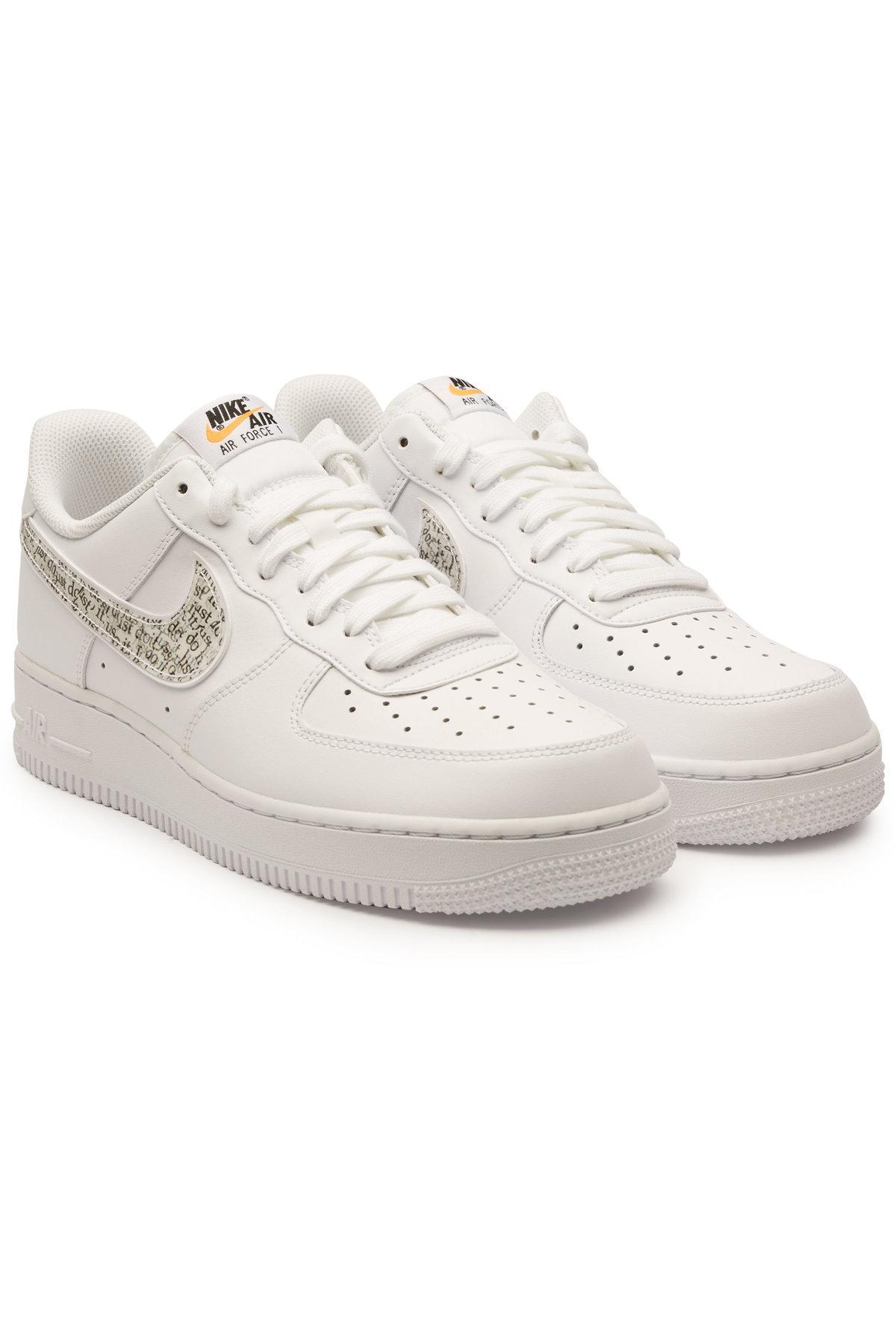 Lyst Nike Air Force 1 '07 Jdi Lntc Pelle Scarpe da