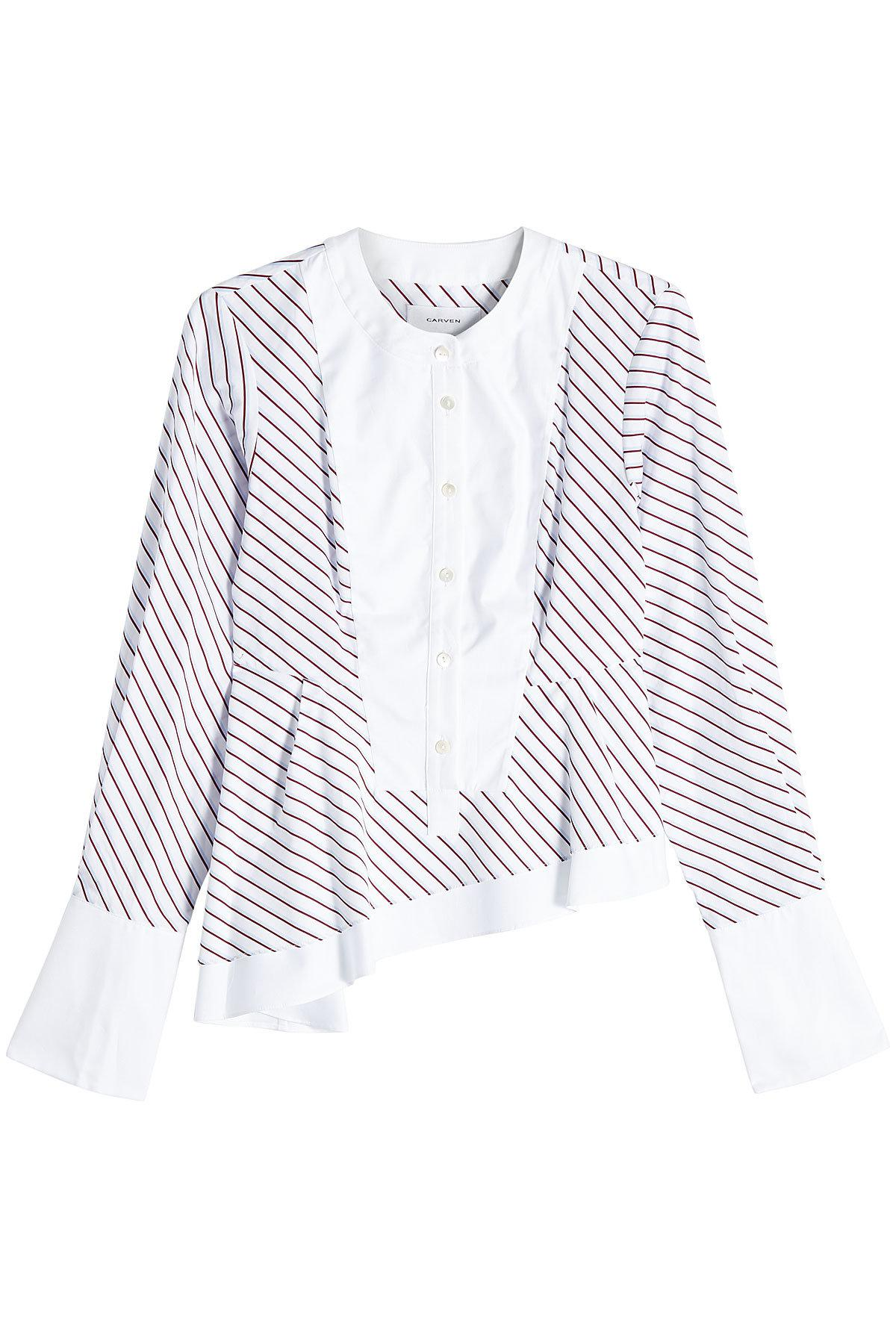 Quality Cheap Largest Supplier Carven Woman Embellished Cotton-blend Jacquard Top Off-white Size XS Carven mgEcMrqZf