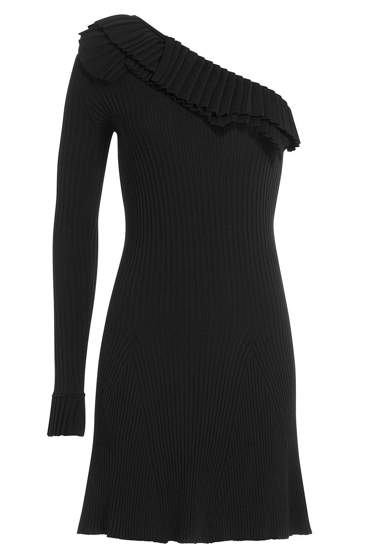 asymmetric short dress - Black Emilio Pucci Sale Newest Wide Range Of Cheap Price The Cheapest For Sale Online Store SEtEA