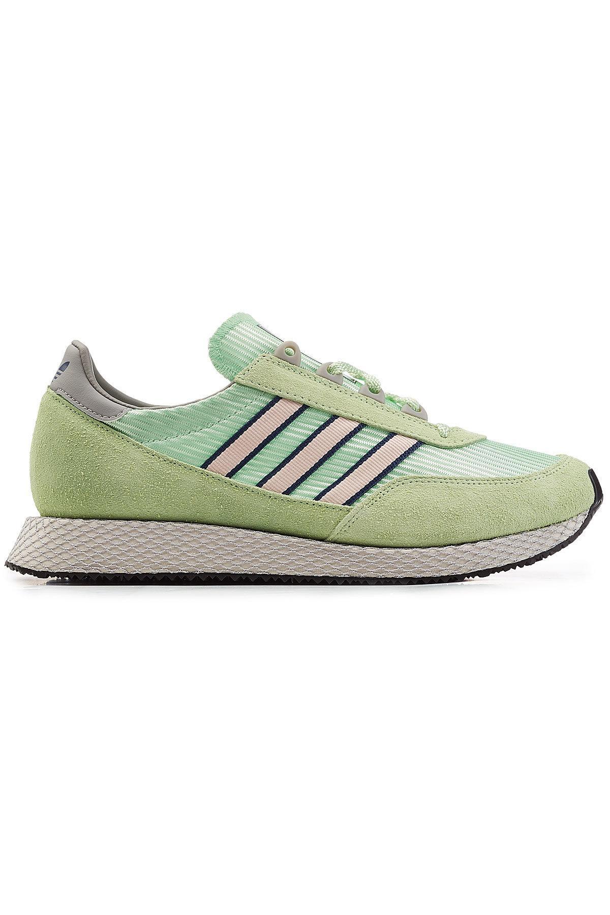 best service 0b57d f8fed Adidas Originals - Multicolor Glenbuck Spzl Sneakers With Suede for Men -  Lyst. View fullscreen