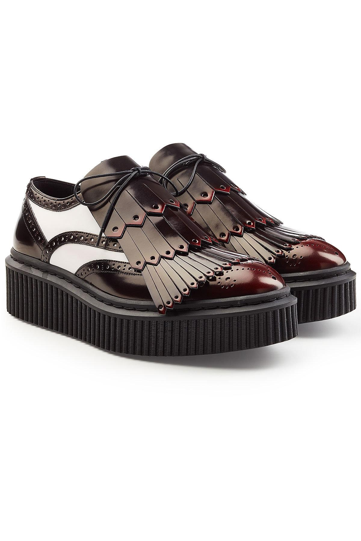 Buy Cheap For Cheap Burberry Platform Derby Kiltie Shoes Buy Online With Paypal Ebay Cheap Price Free Shipping Very Cheap Outlet Footlocker Finishline jUB2xunnX