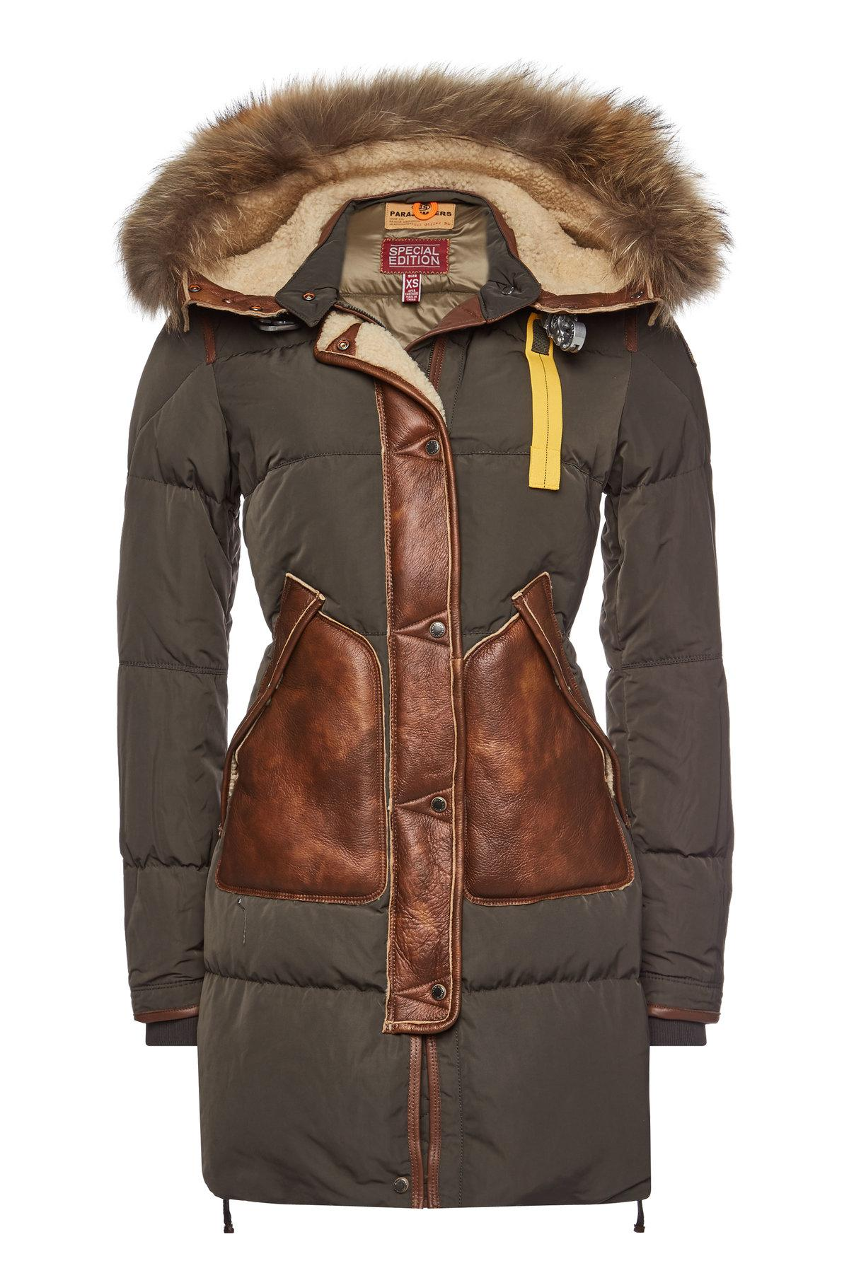 parajumpers crystal down coat