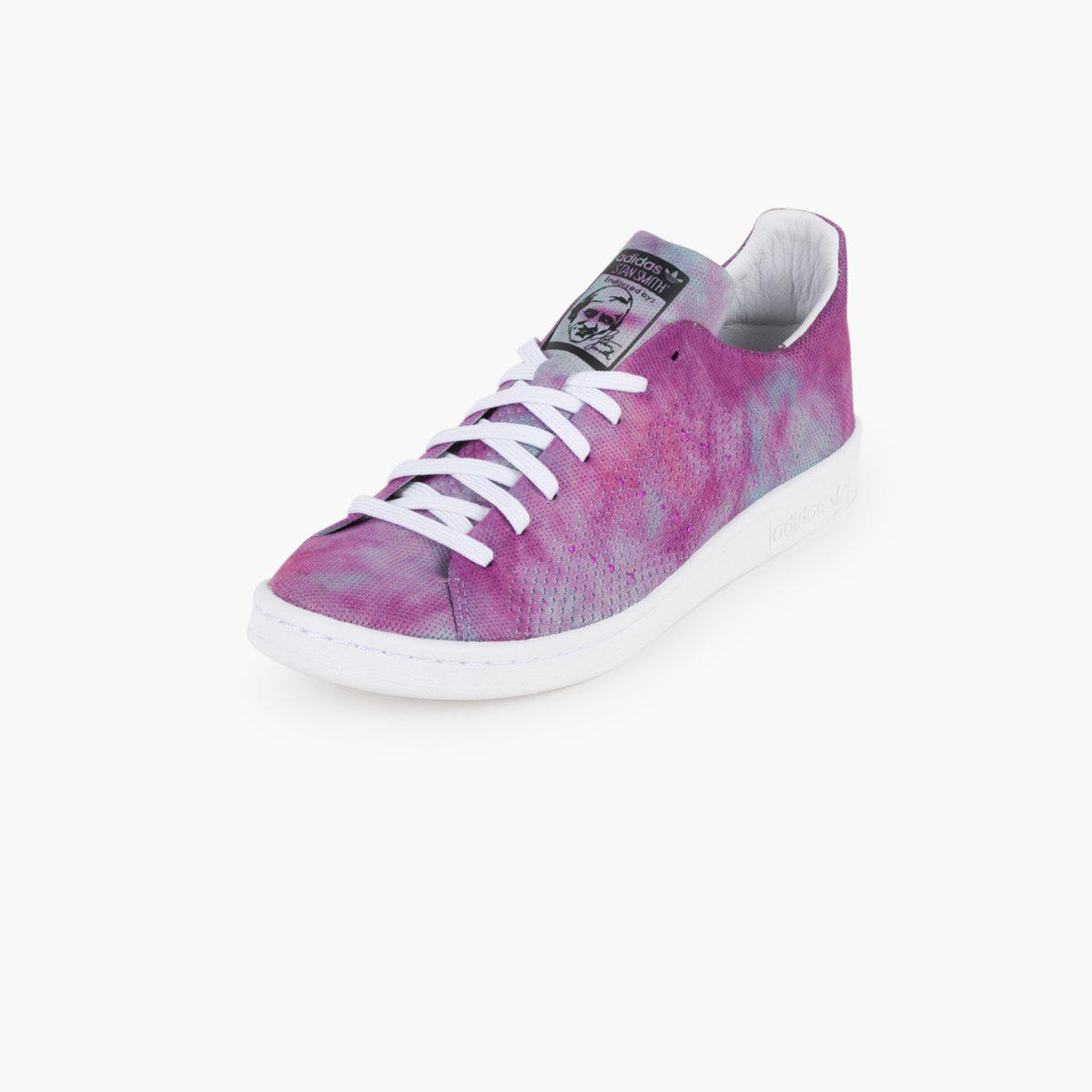 daeb7e8e4050e ... aliexpress adidas originals x pharrell williams hu holi stan smith in  purple lyst 17ab6 21f8b