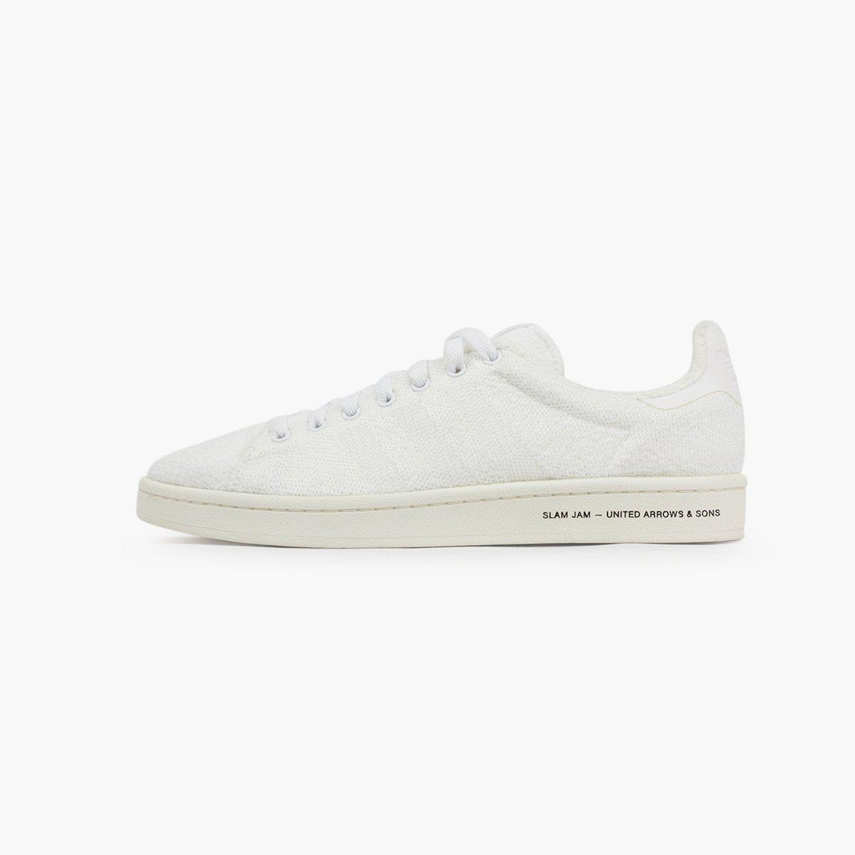 best website 81d11 b0ed9 adidas Originals. Mens White X United Arrows X Slam Jam Campus
