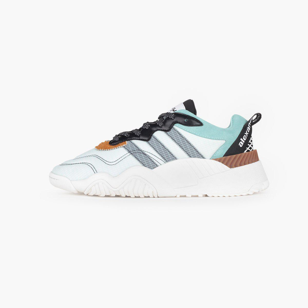 new product 1c8a0 50611 adidas Originals. Womens Blue Adidas Originals By Alexander Wang Turnout  Trainer
