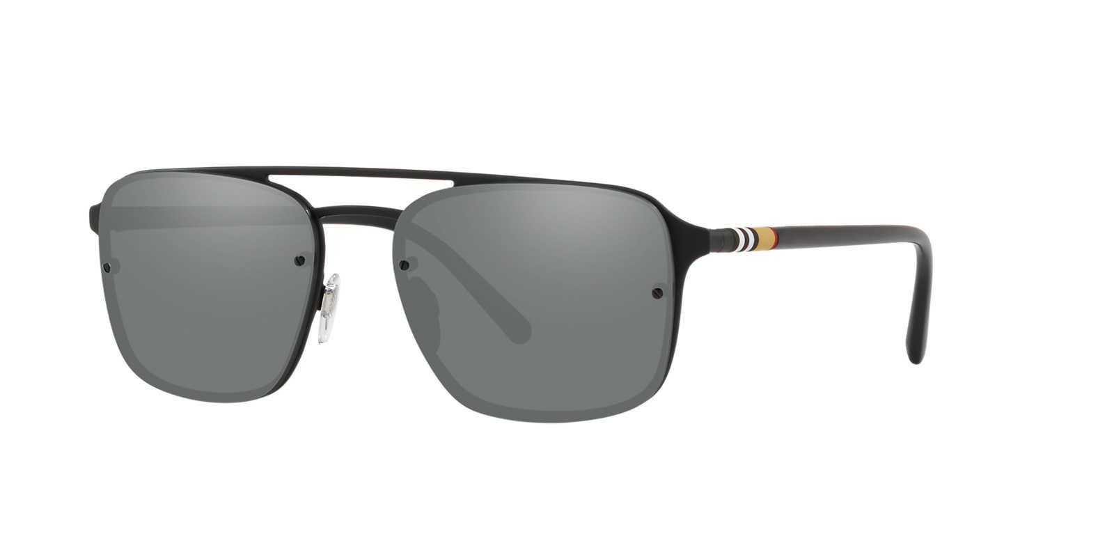93e927c89f5 Burberry Sunglass Be3095 56 in Metallic for Men - Lyst