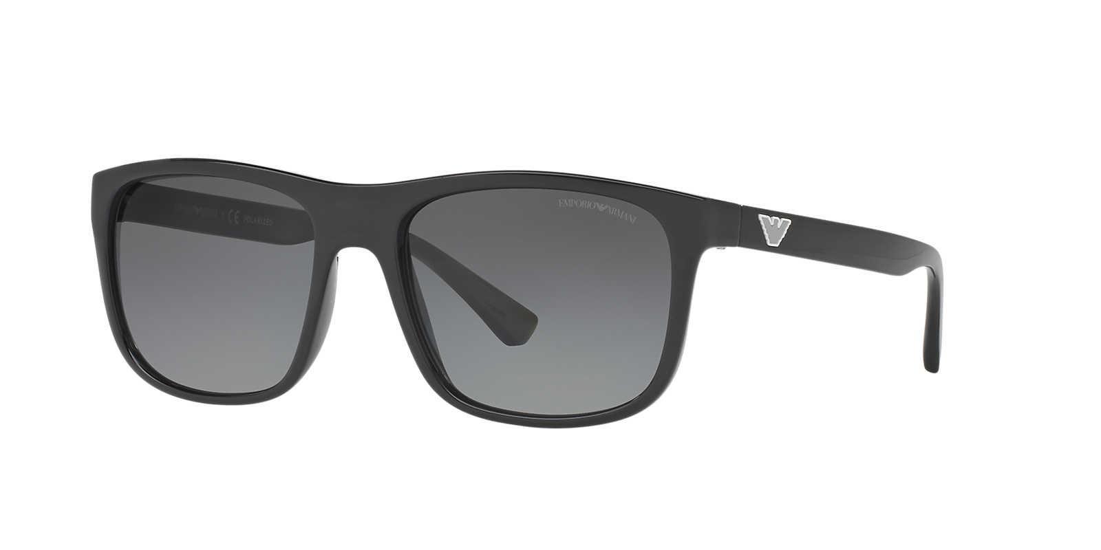 6309173186 Emporio Armani Unisex Sunglass Ea4085 56 in Gray for Men - Lyst