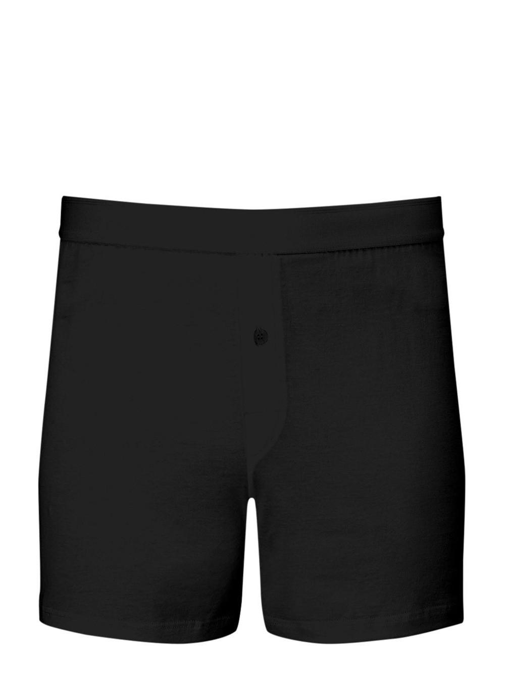 059ab01ff5 Lyst - Sunspel Men's Superfine Cotton One-button Shorts In Black in ...