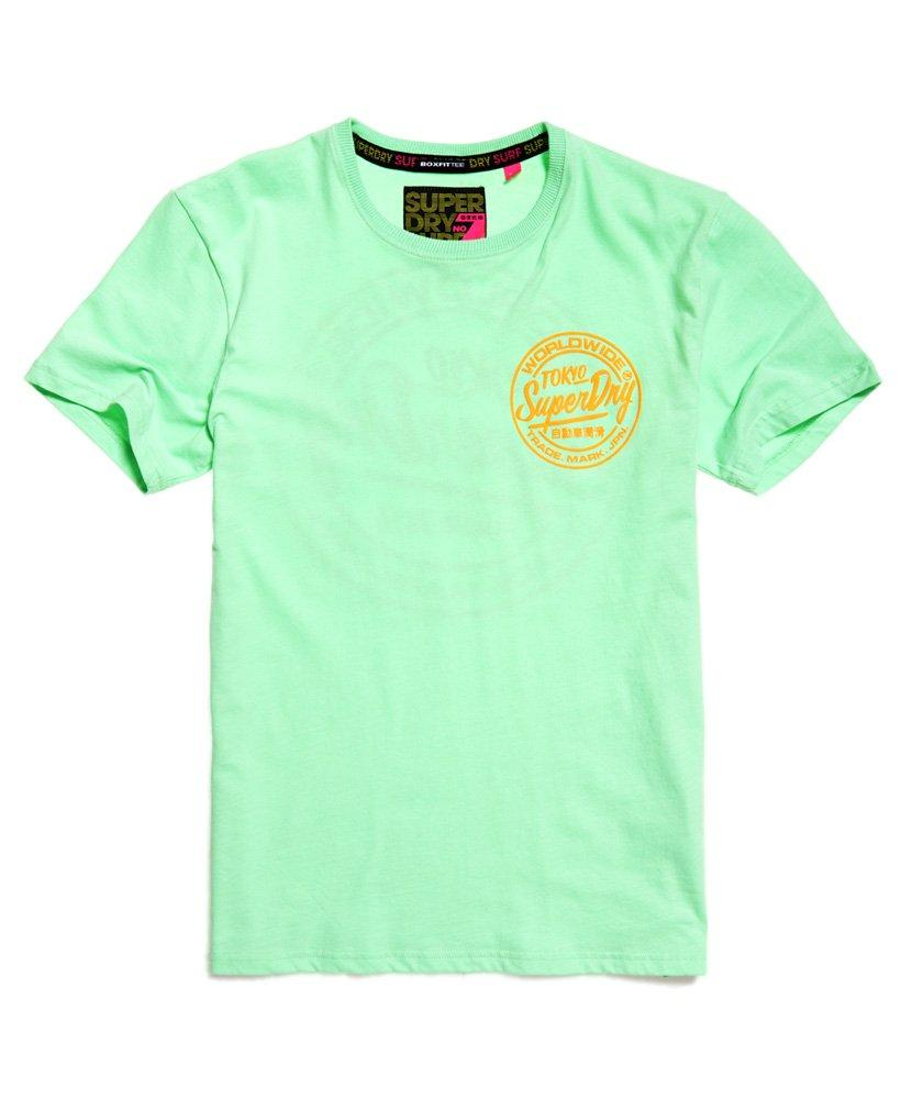 c2cec006d Superdry Ticket Type Box Fit T-shirt in Green for Men - Lyst
