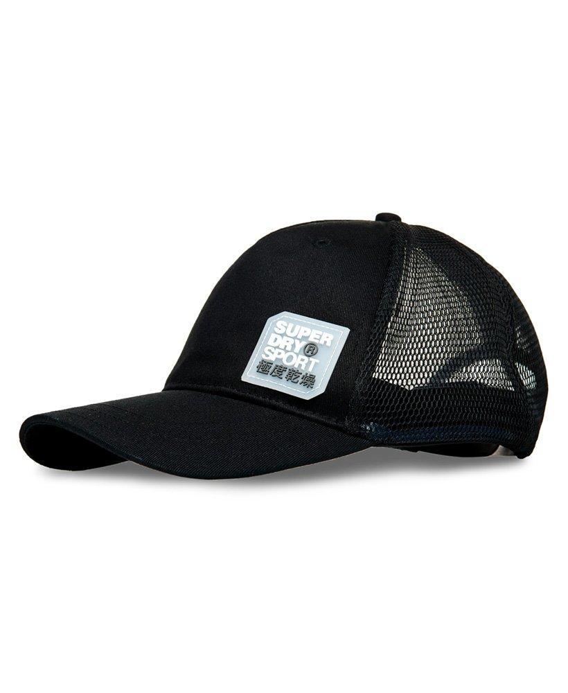 e3661d3a74fe5 Lyst - Superdry Sports Trucker Cap in Black for Men